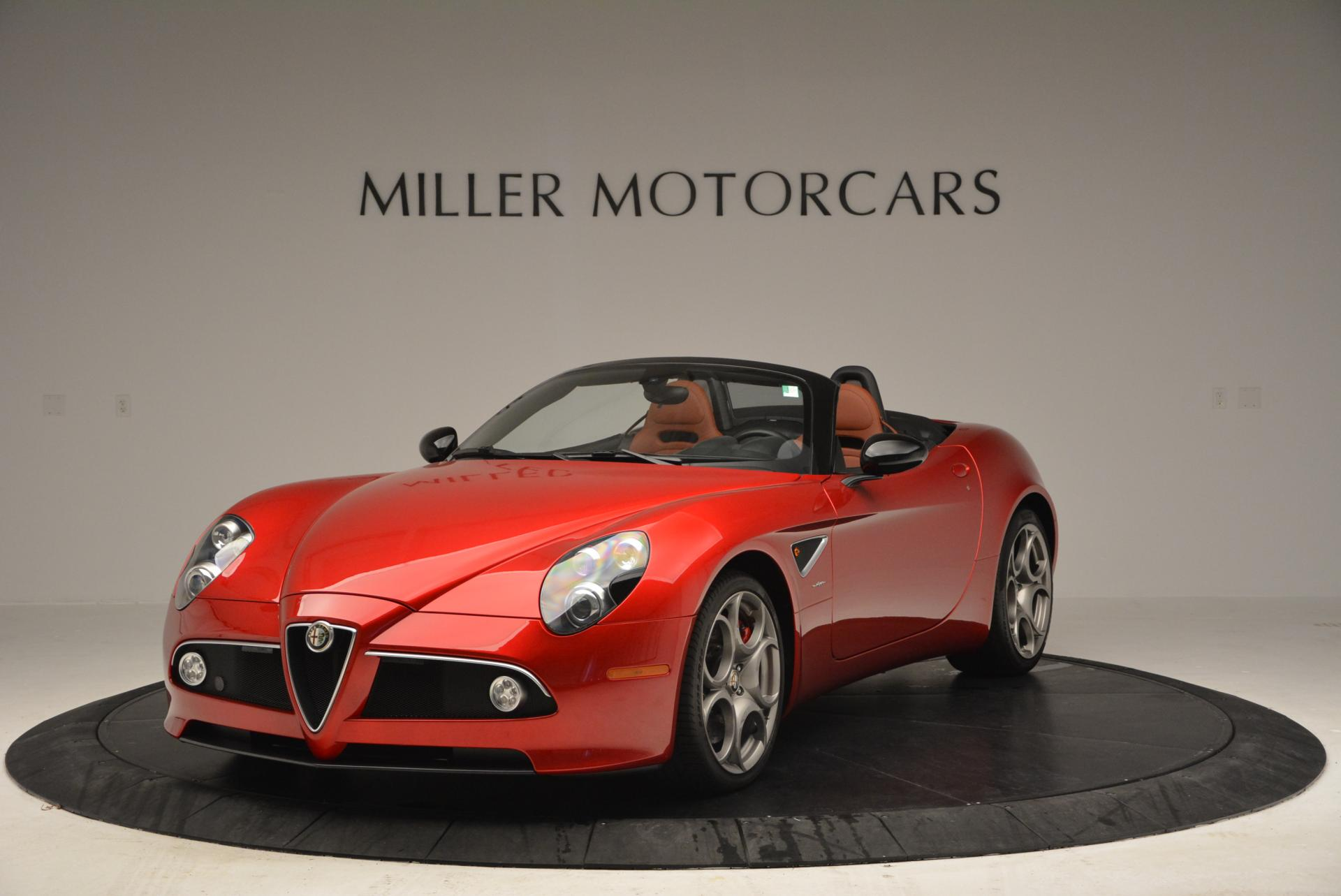 Used 2009 Alfa Romeo 8C Competizione Spider For Sale In Westport, CT 1_main