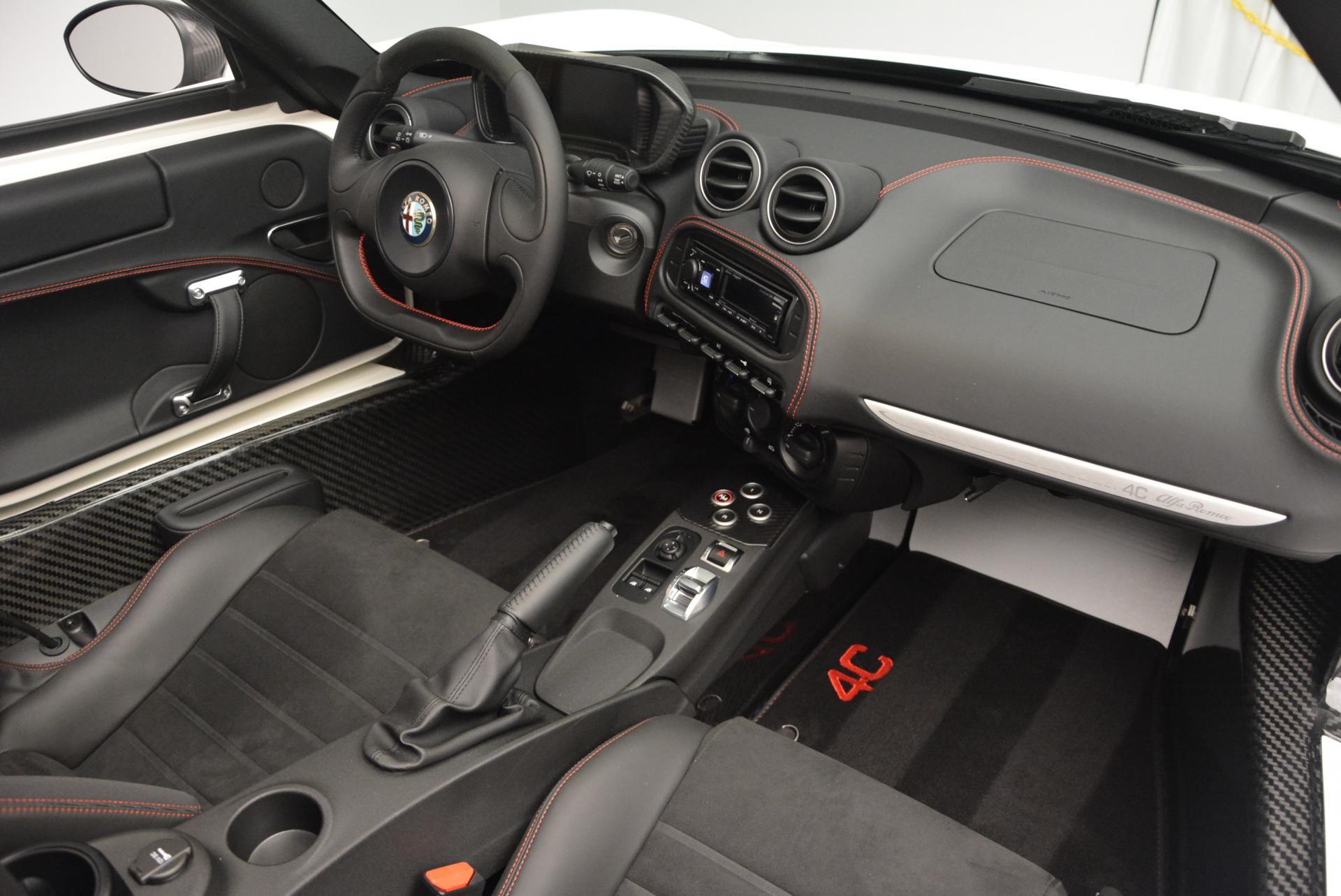 New 2015 Alfa Romeo 4C Spider  For Sale In Westport, CT 10_p28