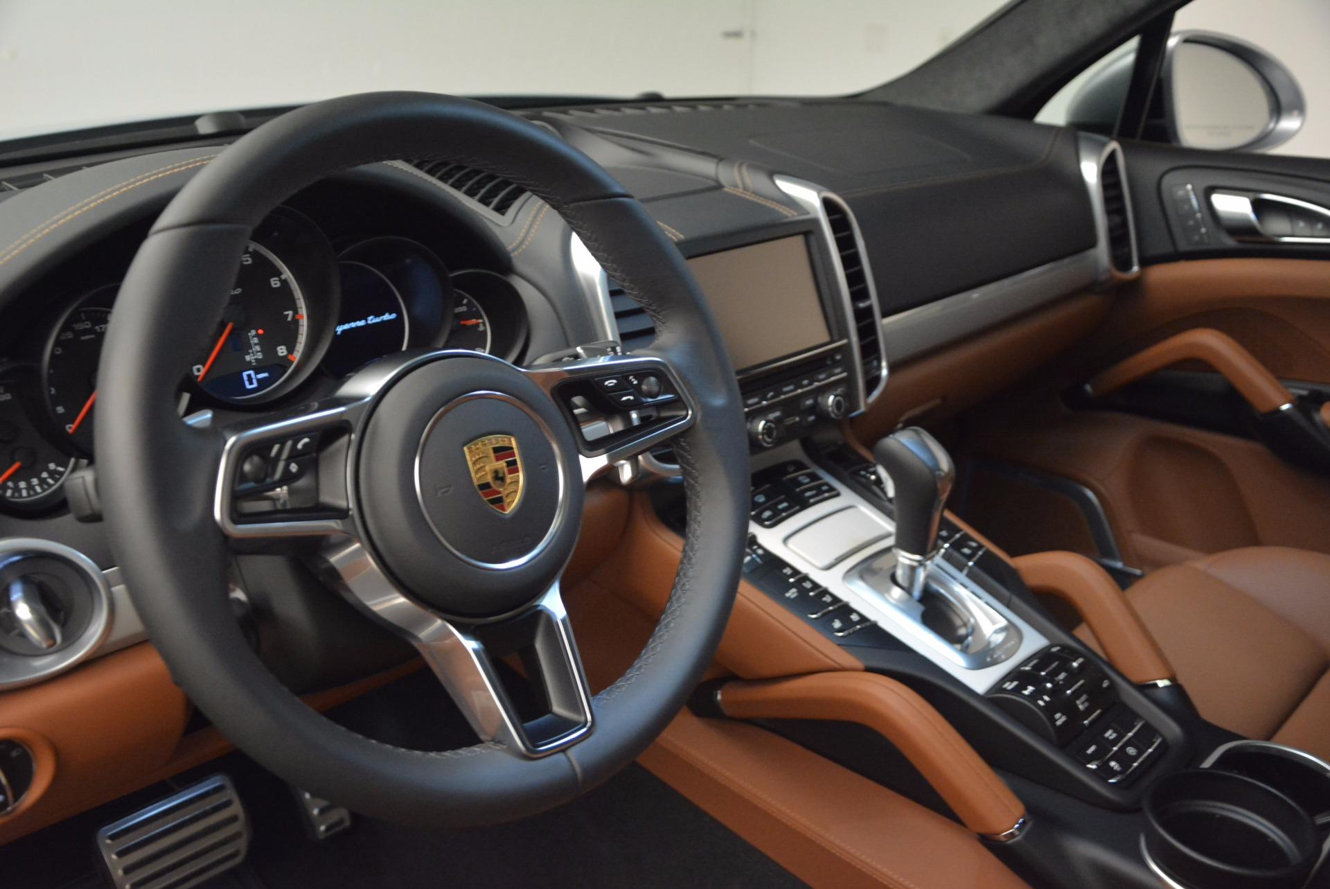 Used 2016 Porsche Cayenne Turbo For Sale In Westport, CT 1000_p21