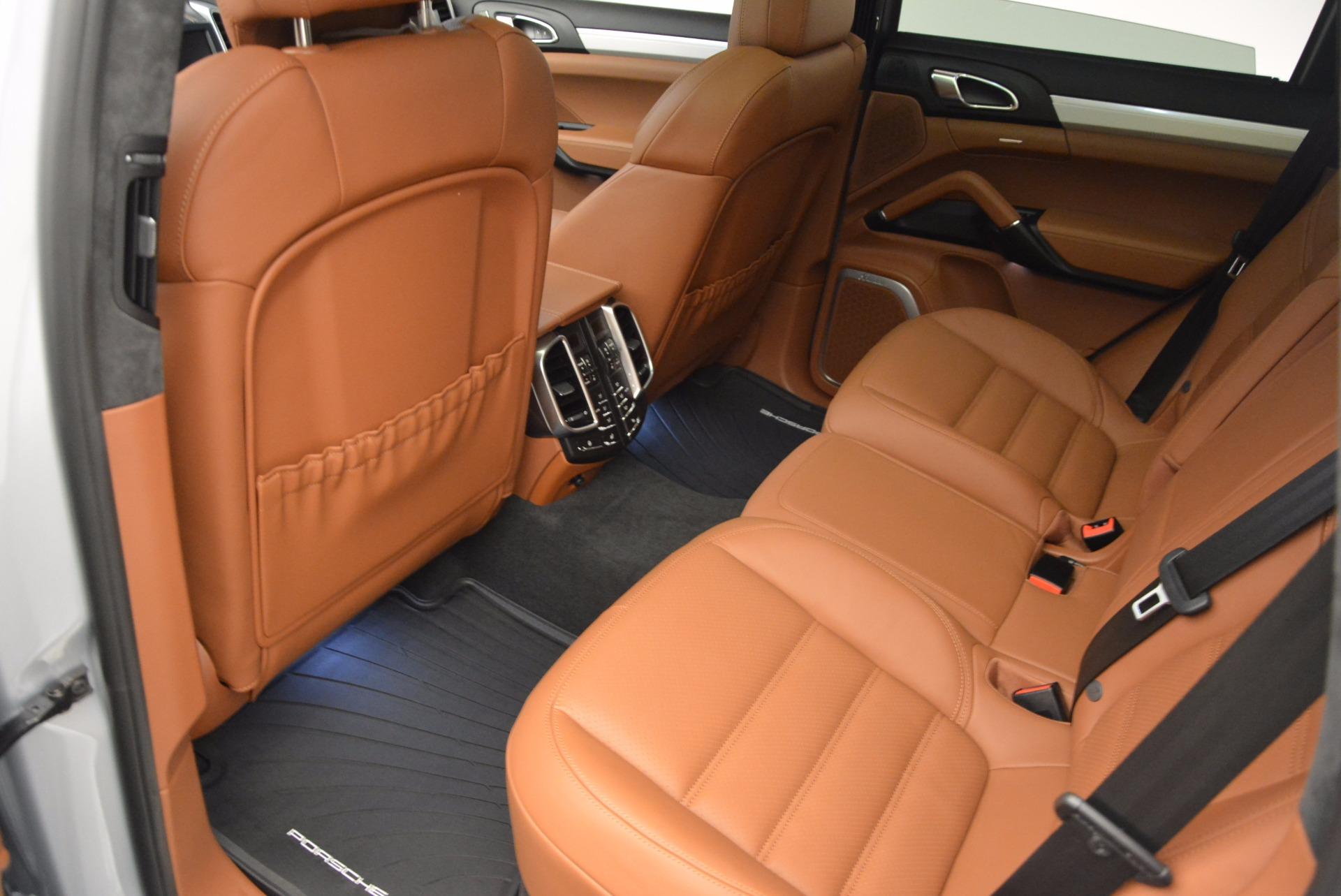 Used 2016 Porsche Cayenne Turbo For Sale In Westport, CT 1000_p27