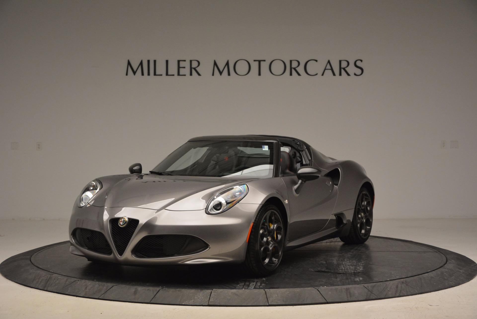 New 2016 Alfa Romeo 4C Spider For Sale In Westport, CT 1004_main
