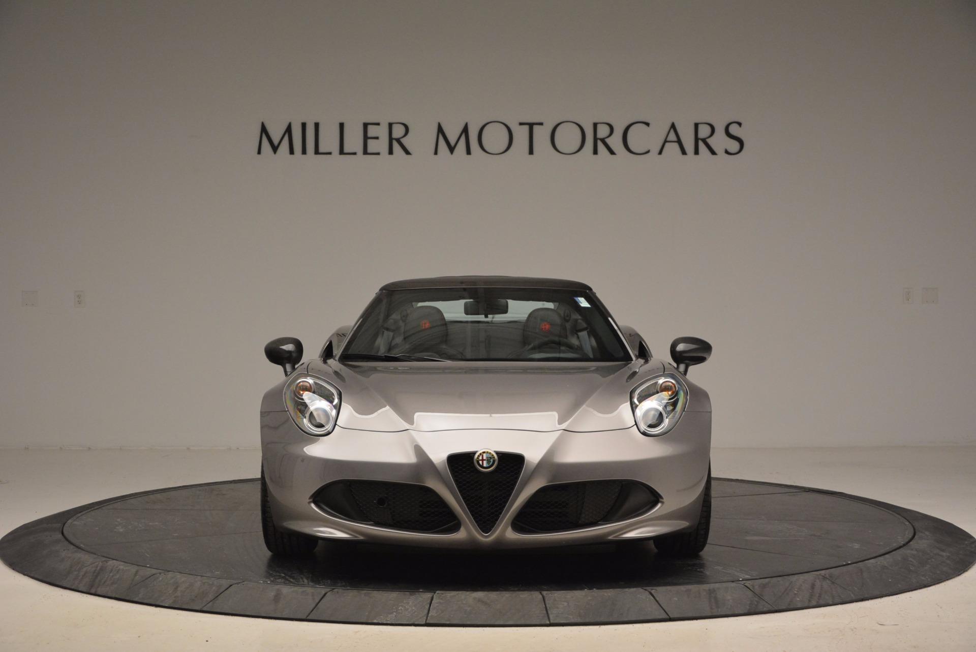 New 2016 Alfa Romeo 4C Spider For Sale In Westport, CT 1004_p12