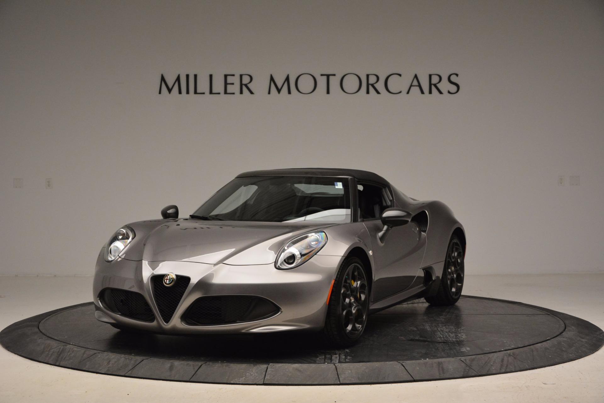 New 2016 Alfa Romeo 4C Spider For Sale In Westport, CT 1004_p13