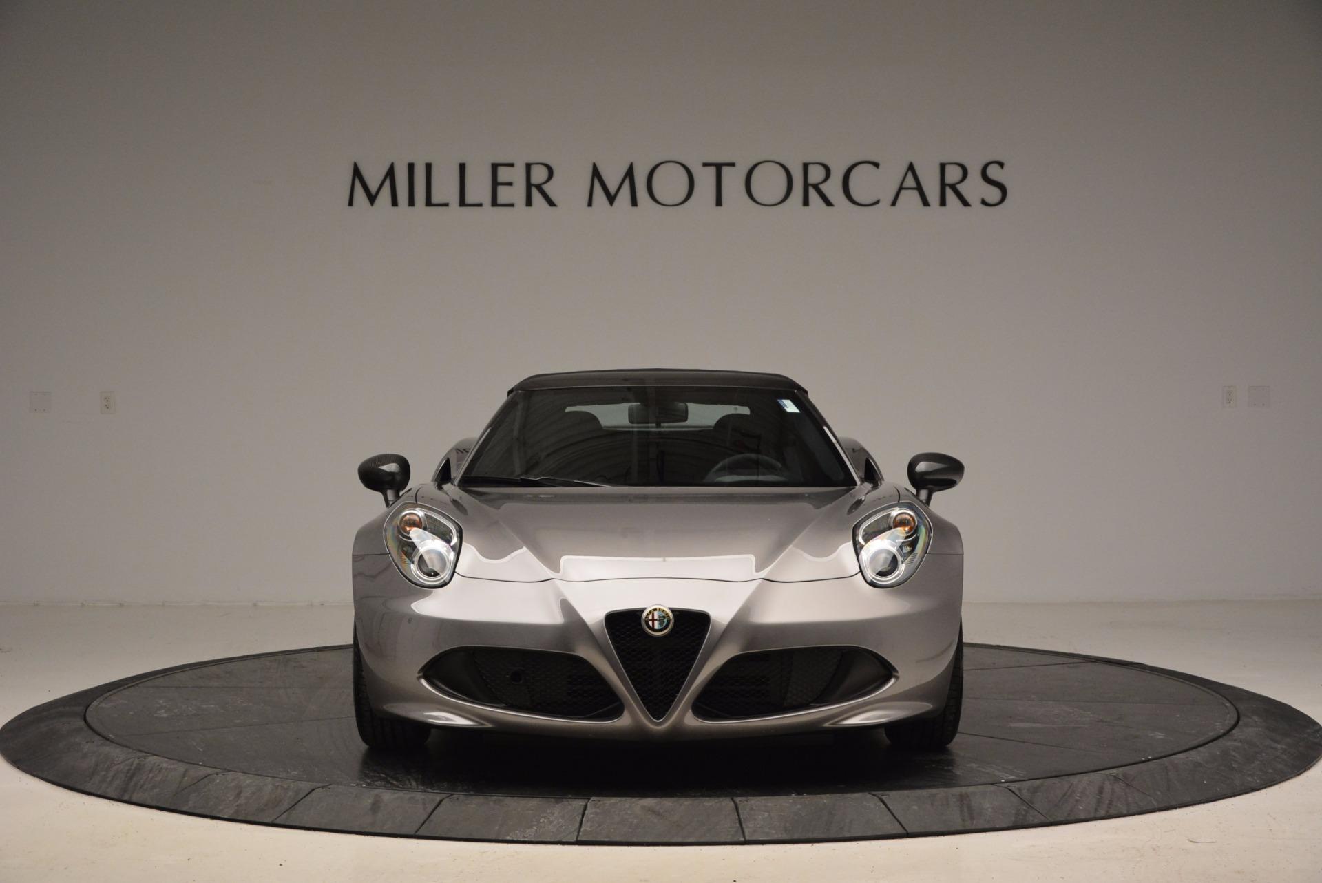 New 2016 Alfa Romeo 4C Spider For Sale In Westport, CT 1004_p24