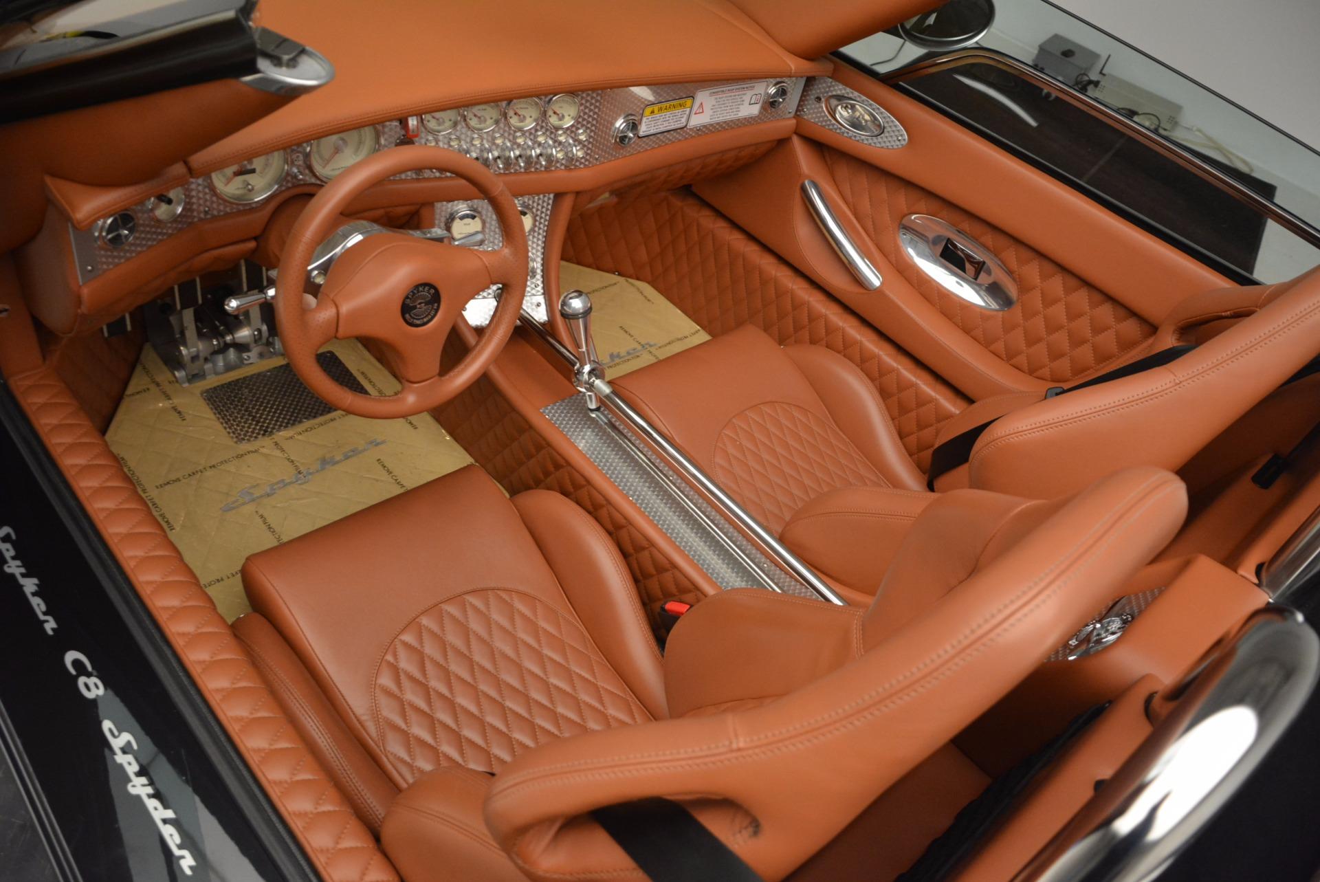 Used 2006 Spyker C8 Spyder  For Sale In Westport, CT 1007_p13