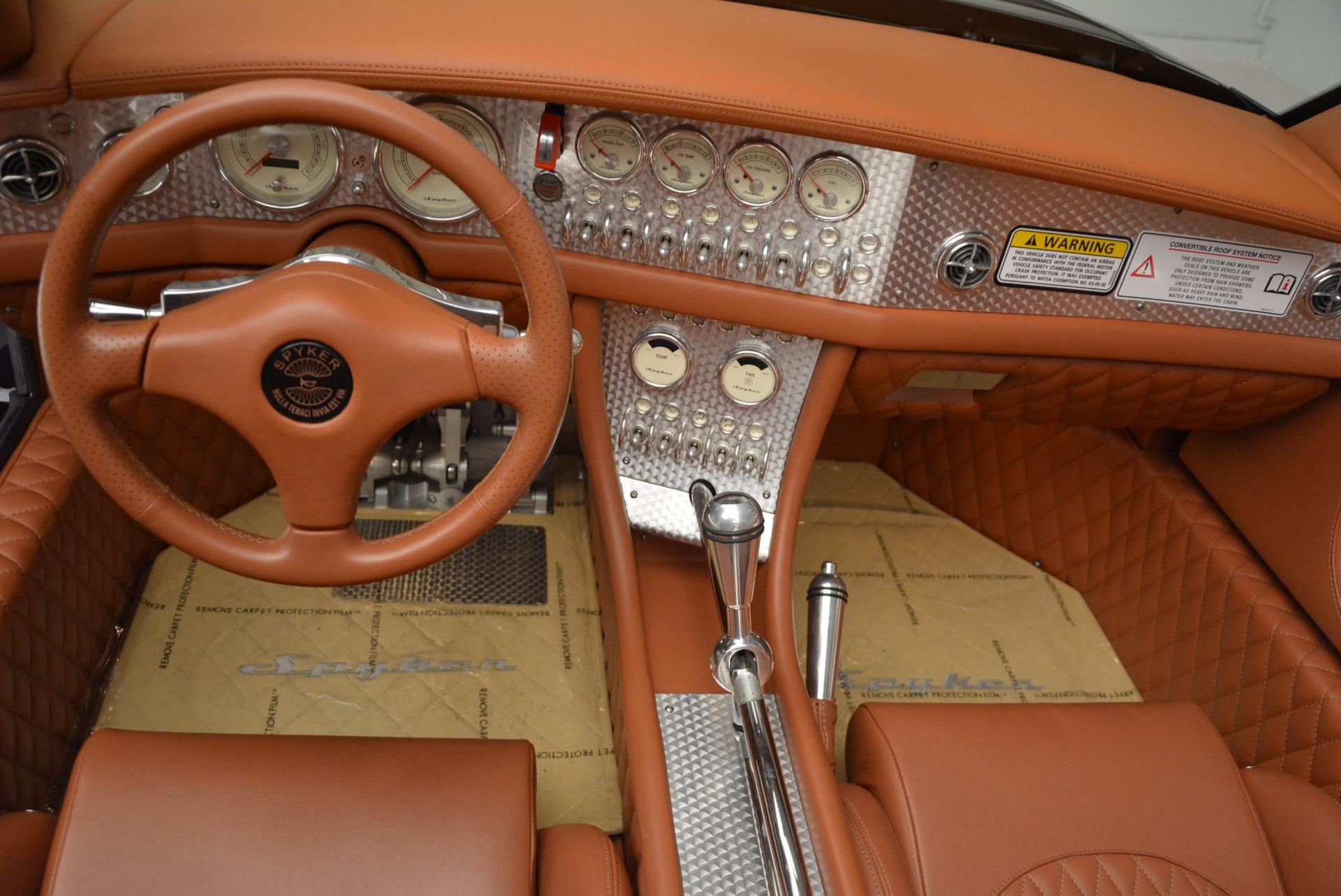 Used 2006 Spyker C8 Spyder  For Sale In Westport, CT 1007_p17