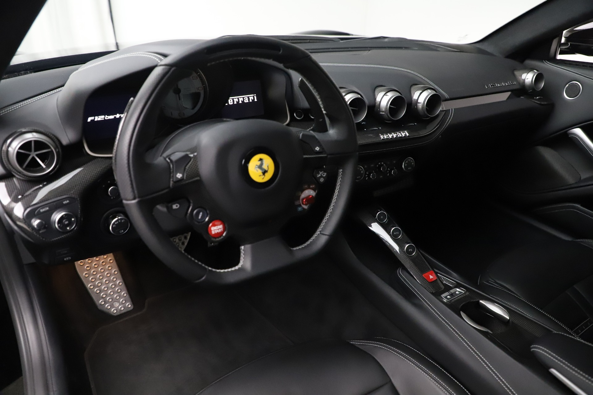 Used 2016 Ferrari F12 Berlinetta  For Sale In Westport, CT 1008_p15