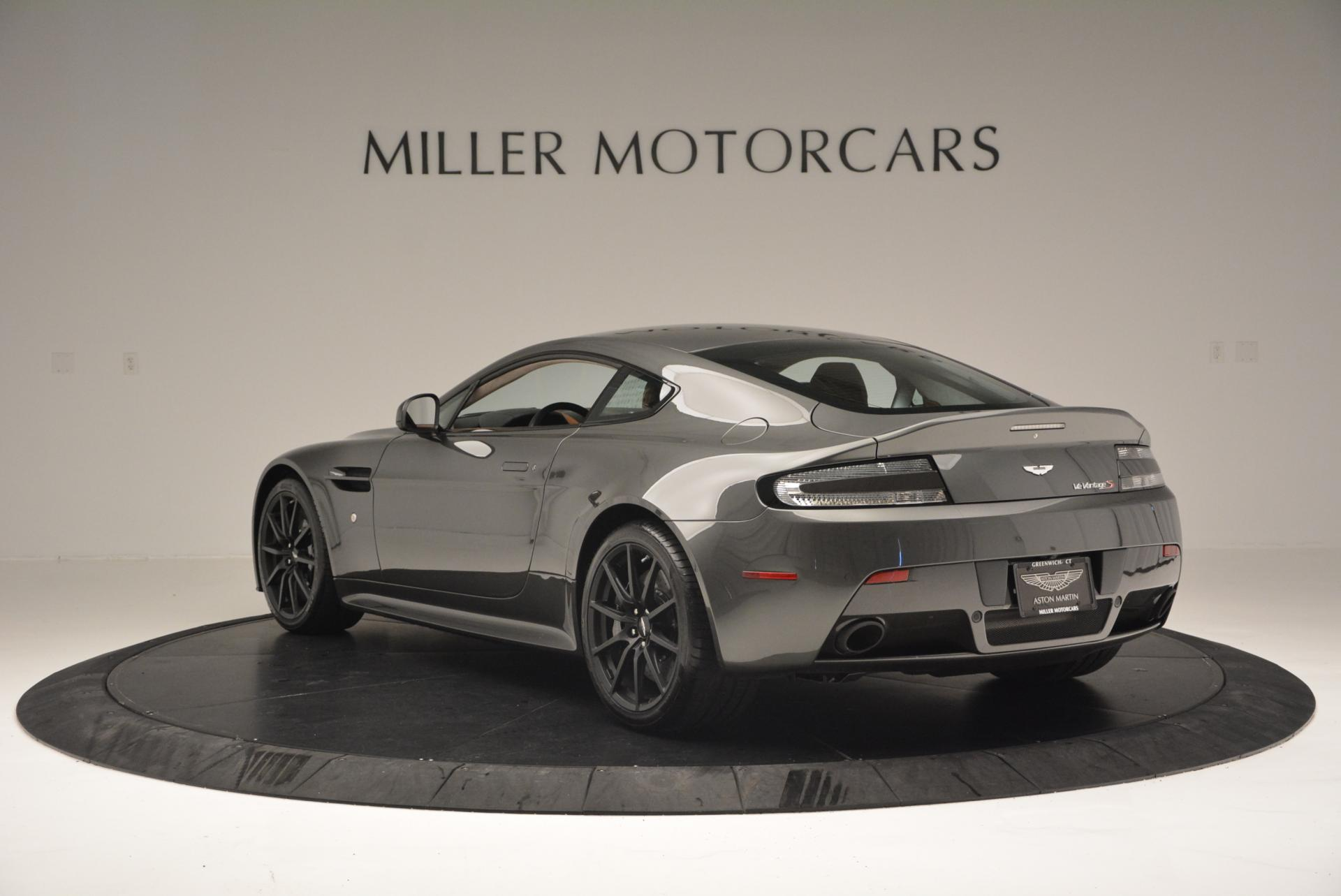Used 2015 Aston Martin V12 Vantage S  For Sale In Westport, CT 101_p5