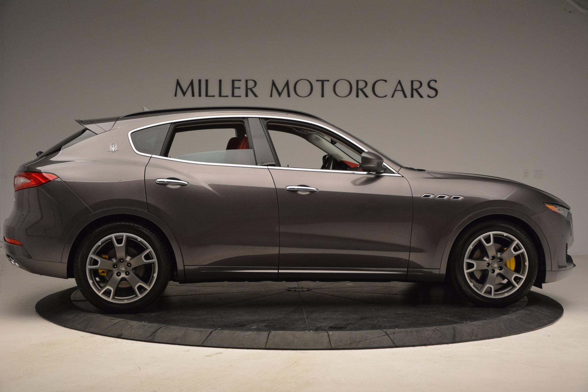 New 2017 Maserati Levante  For Sale In Westport, CT 1017_p9