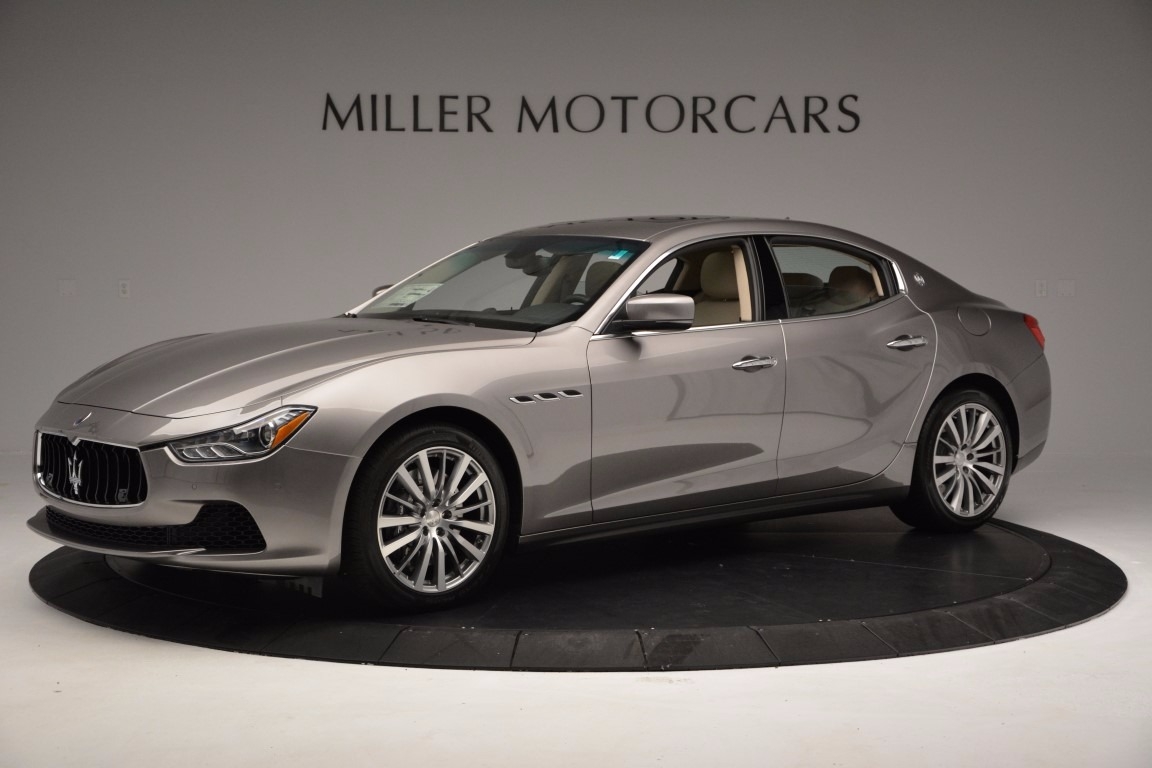 New 2017 Maserati Ghibli S Q4 For Sale In Westport, CT 1028_p2