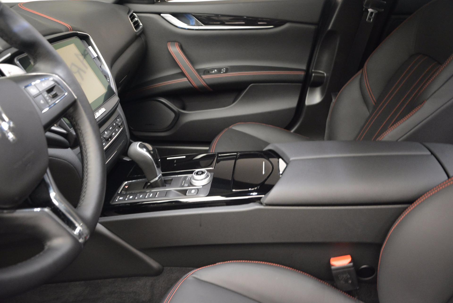 New 2017 Maserati Ghibli S Q4 For Sale In Westport, CT 1029_p14