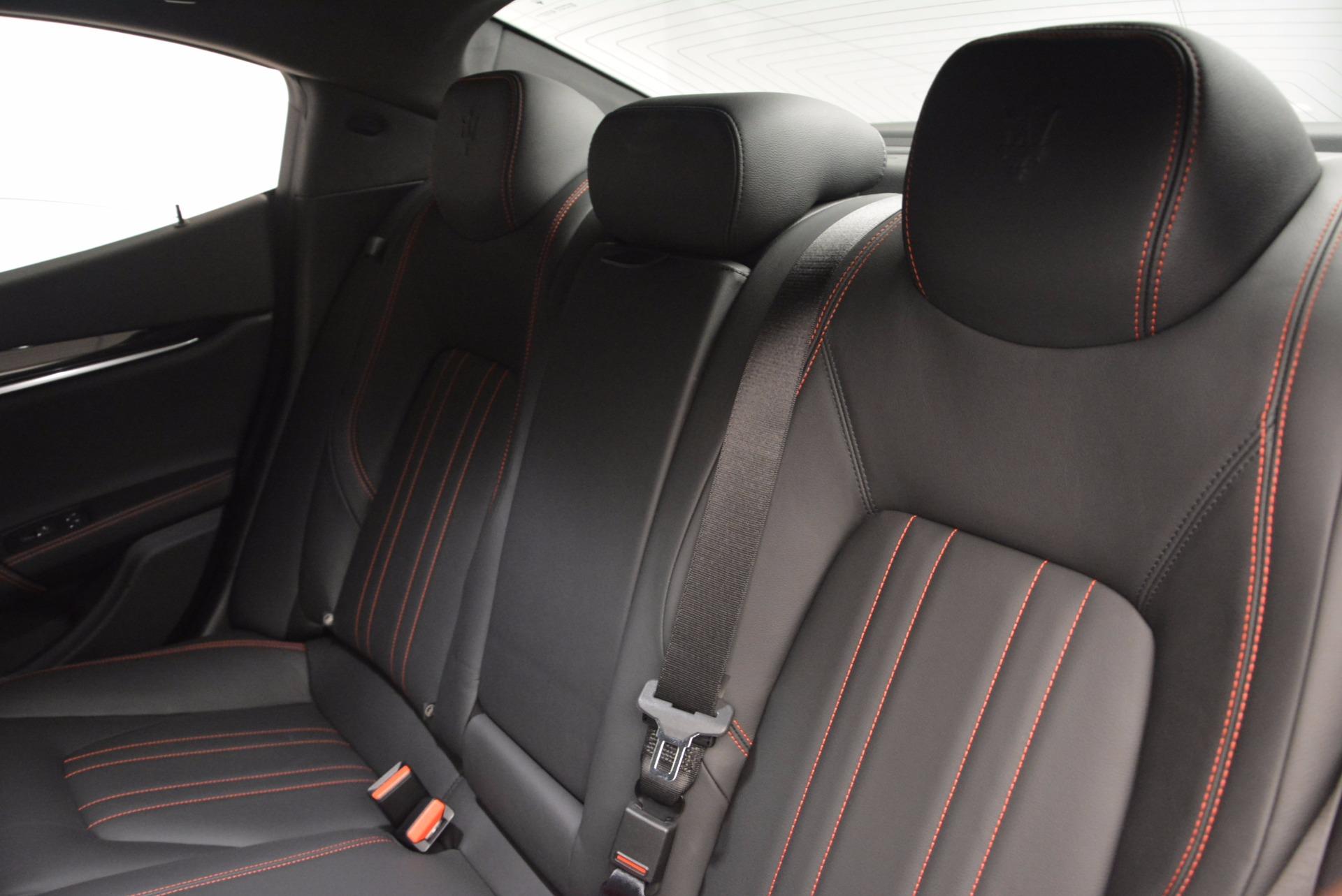 New 2017 Maserati Ghibli S Q4 For Sale In Westport, CT 1029_p18