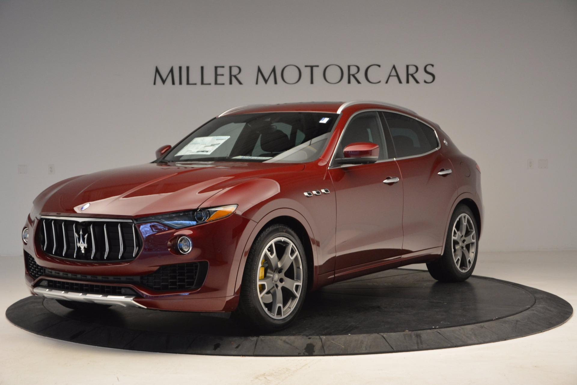 New 2017 Maserati Levante  For Sale In Westport, CT 1047_main