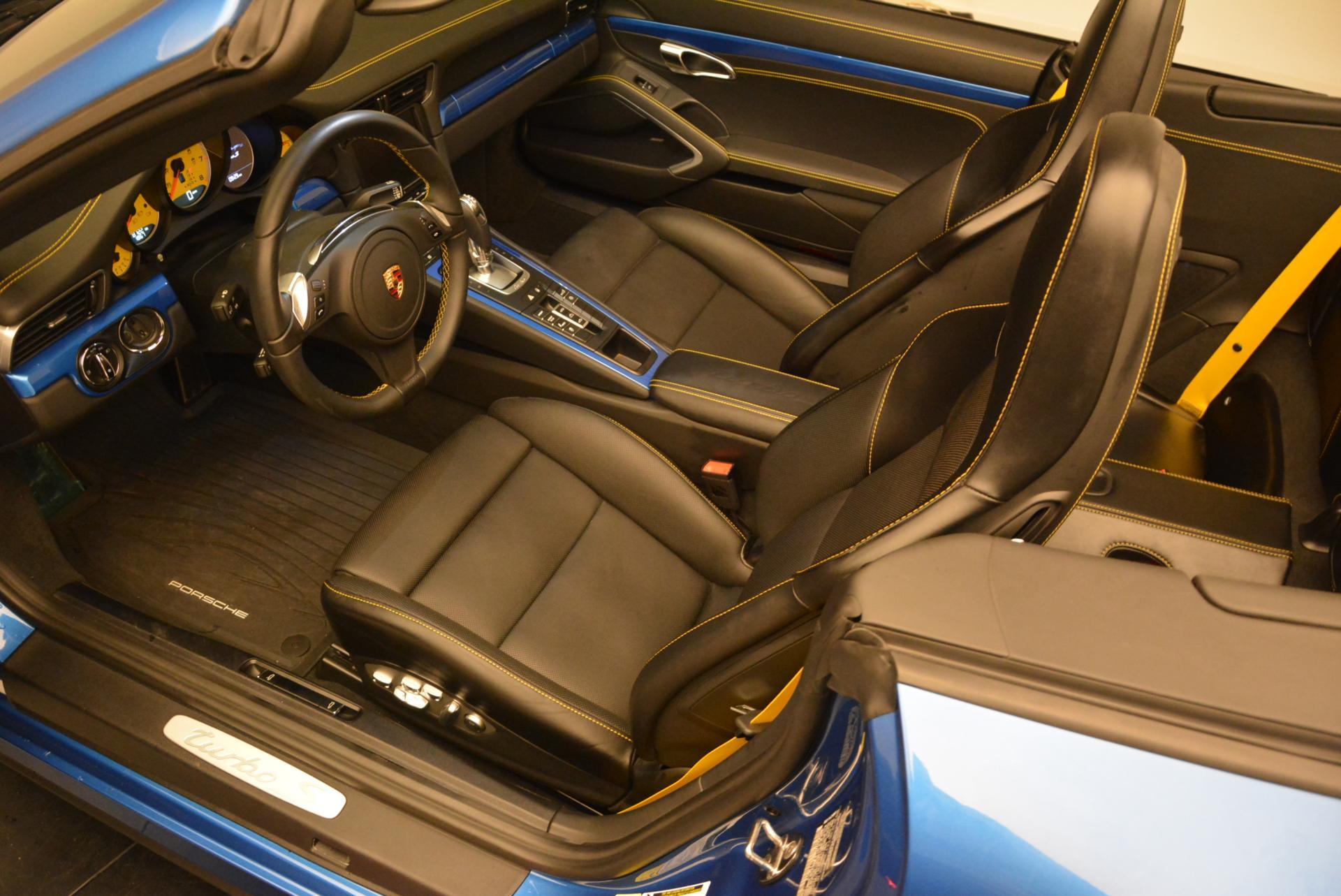 Used 2014 Porsche 911 Turbo S For Sale In Westport, CT 105_p17