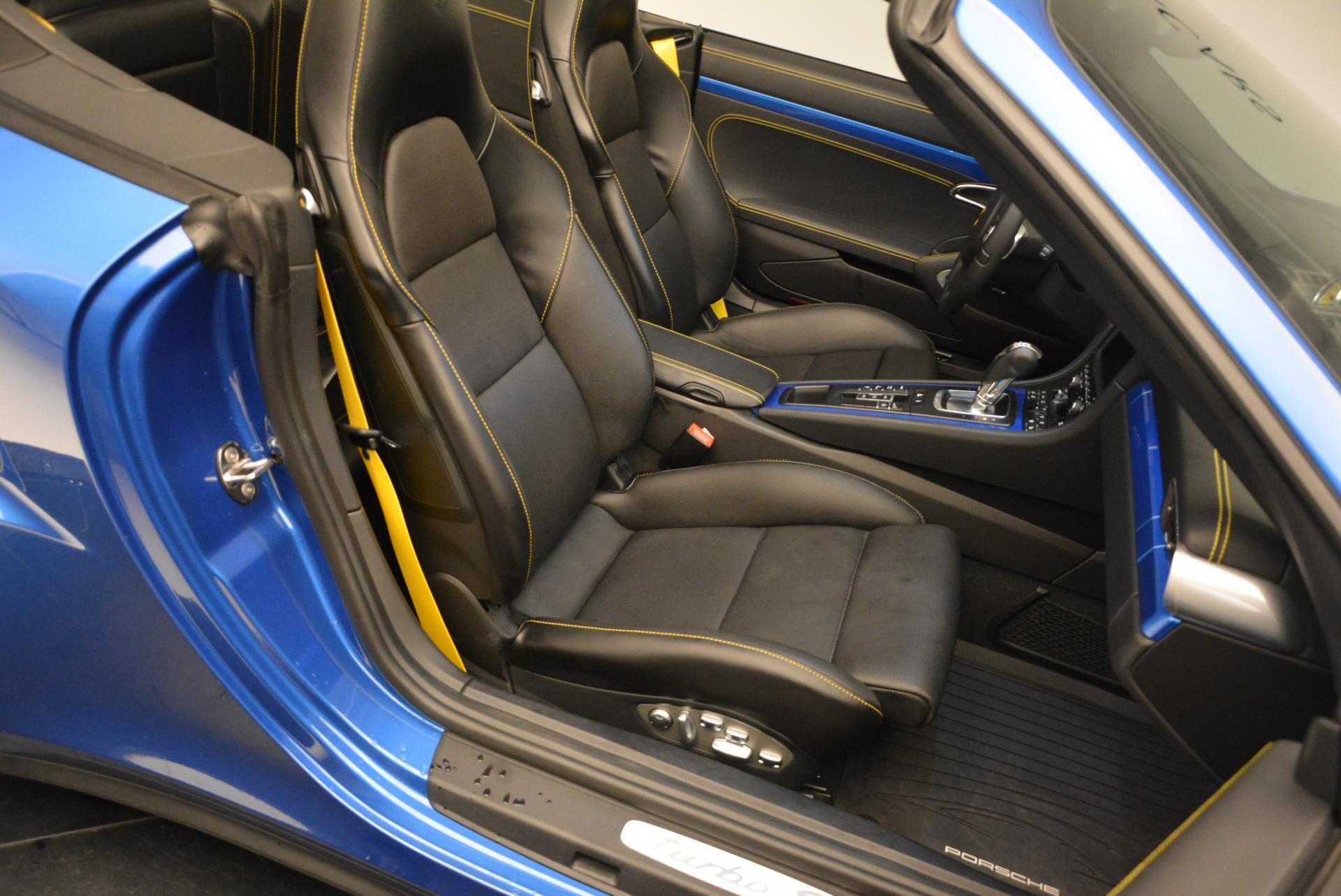 Used 2014 Porsche 911 Turbo S For Sale In Westport, CT 105_p23