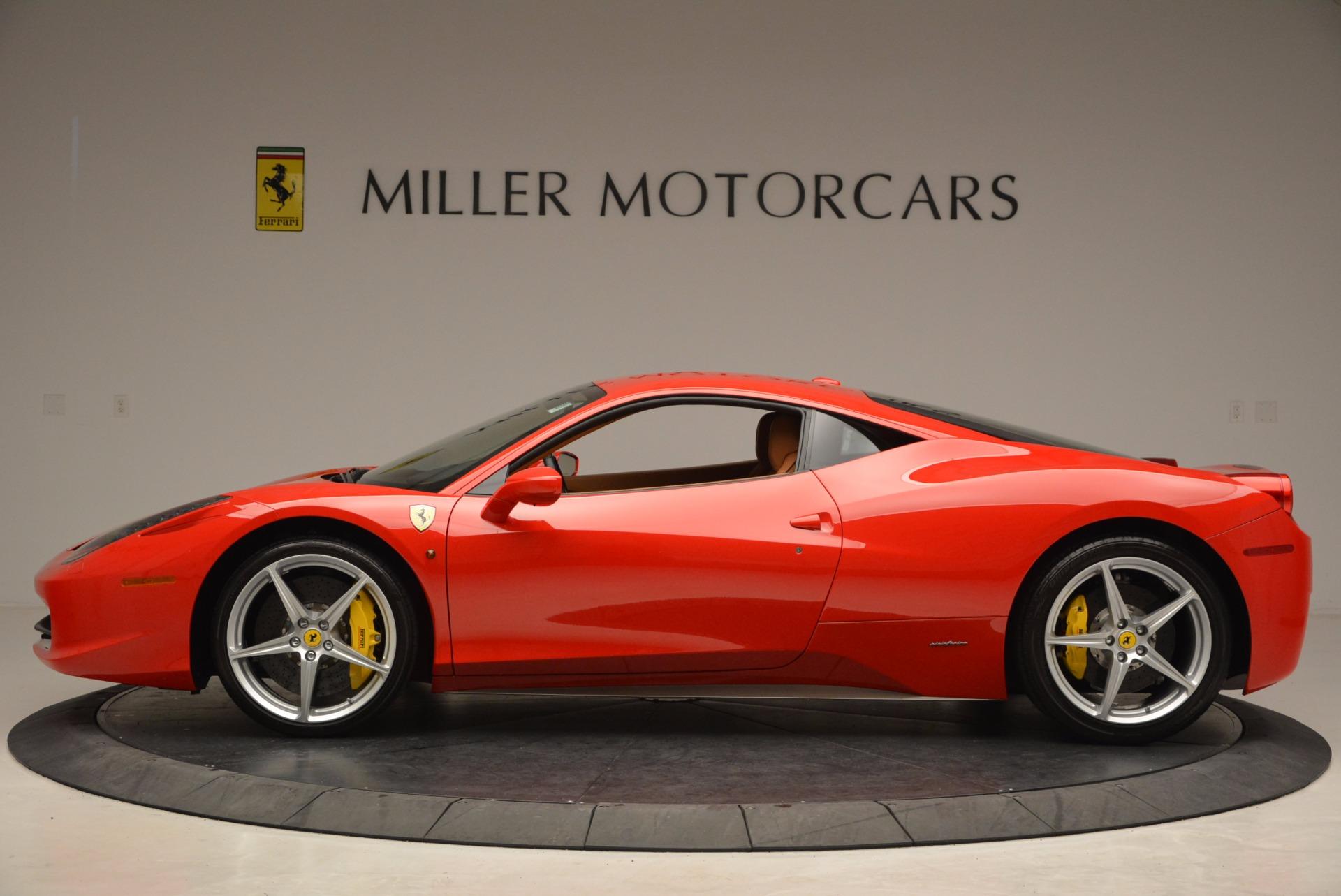 Used 2011 Ferrari 458 Italia  For Sale In Westport, CT 1054_p3