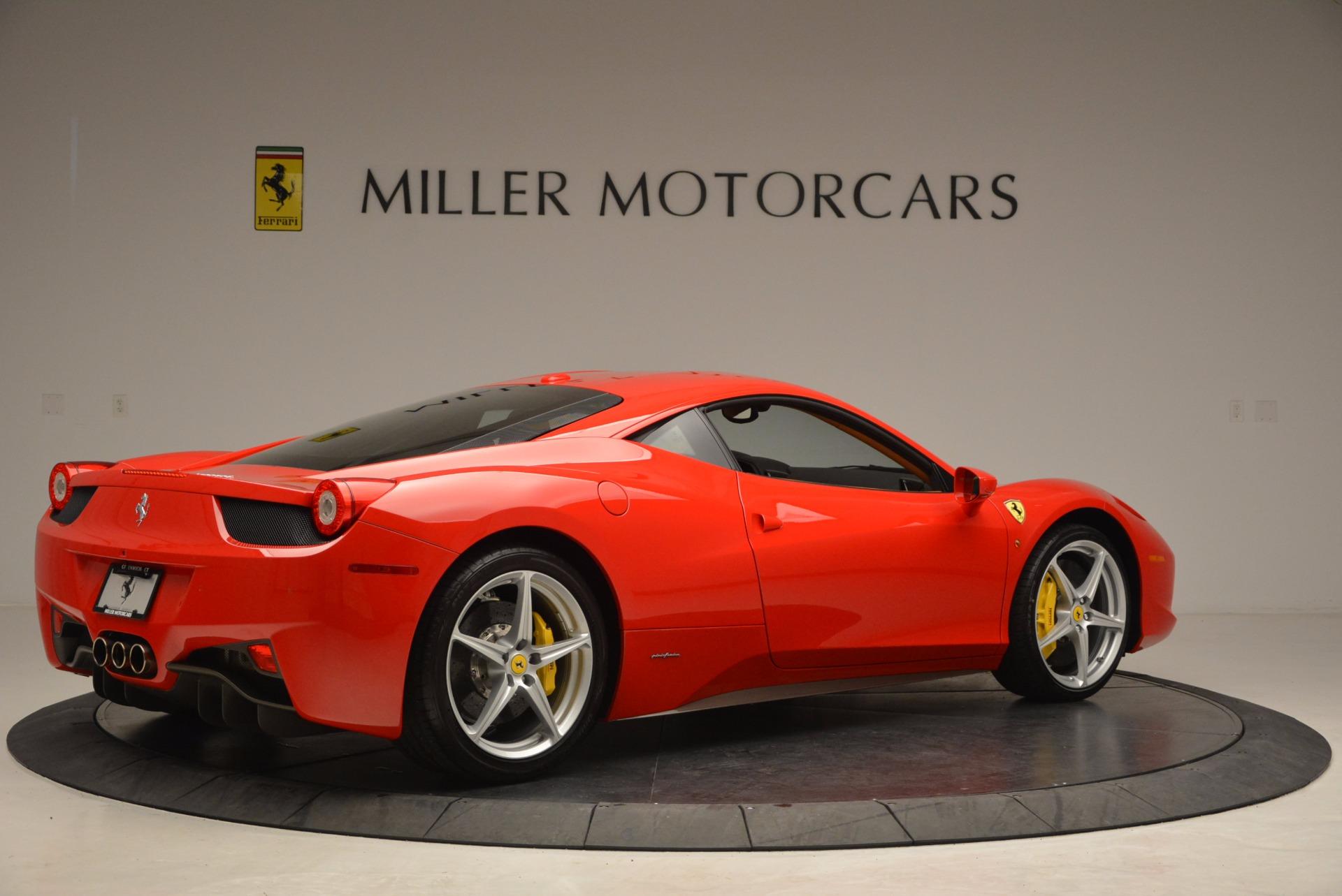 Used 2011 Ferrari 458 Italia  For Sale In Westport, CT 1054_p8