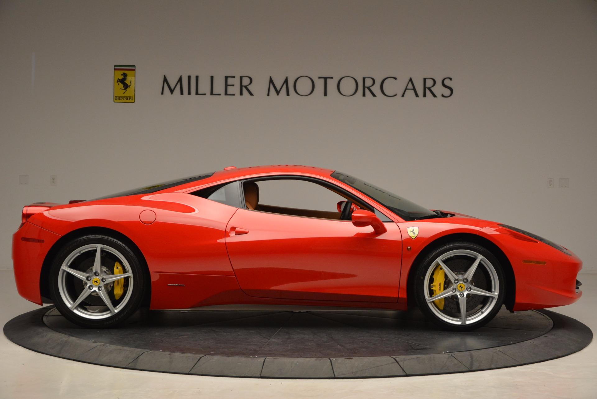Used 2011 Ferrari 458 Italia  For Sale In Westport, CT 1054_p9