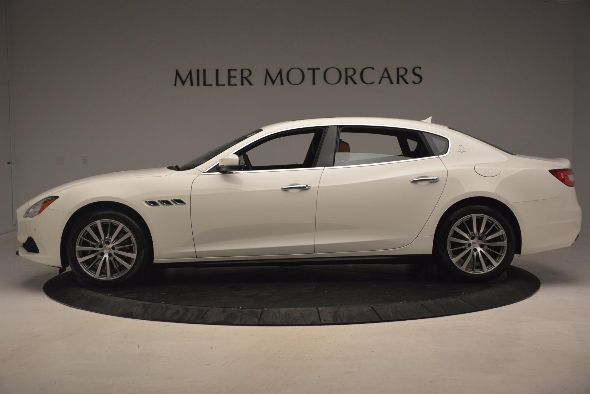 New 2017 Maserati Quattroporte SQ4 For Sale In Westport, CT 1065_p3