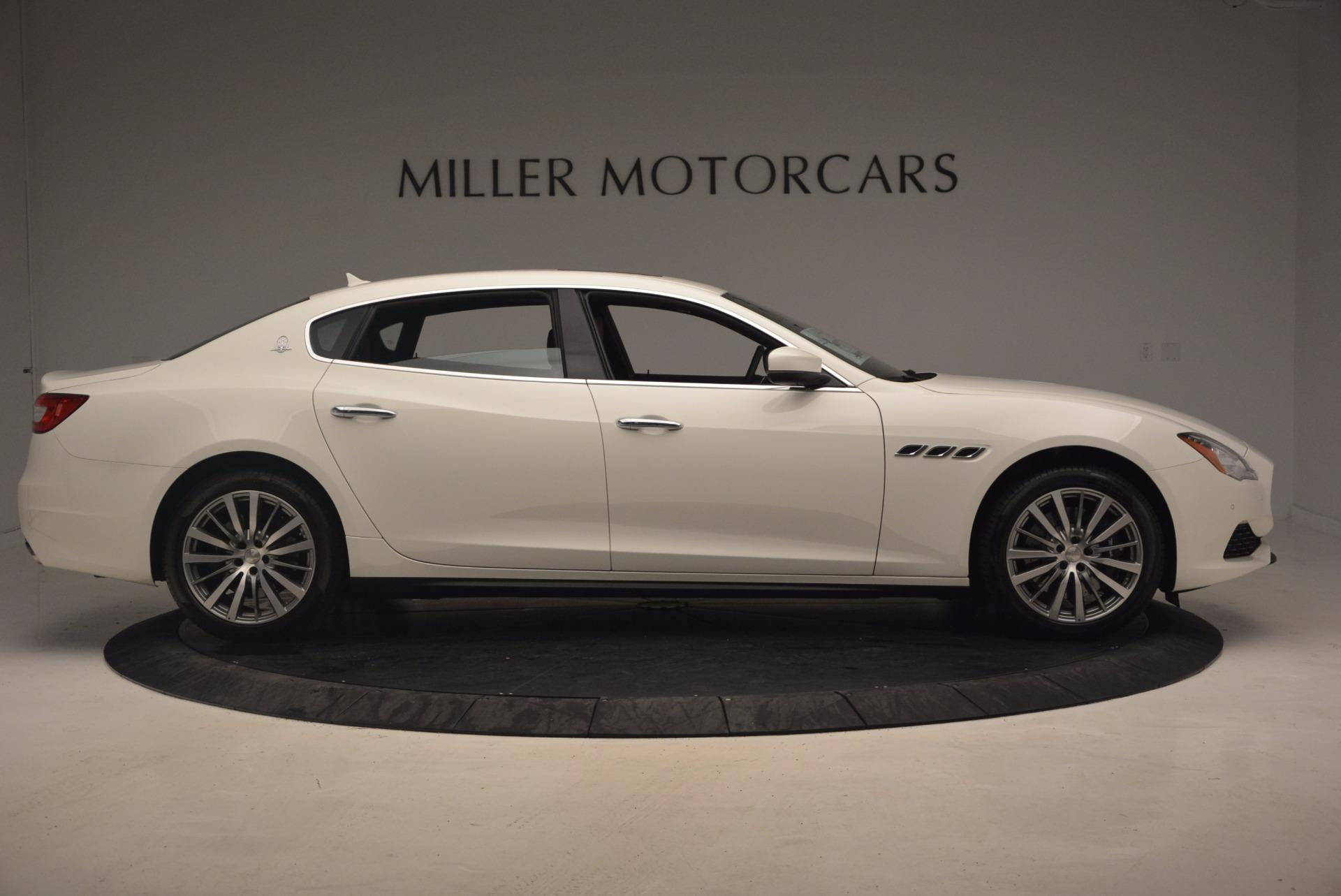 New 2017 Maserati Quattroporte SQ4 For Sale In Westport, CT 1065_p9
