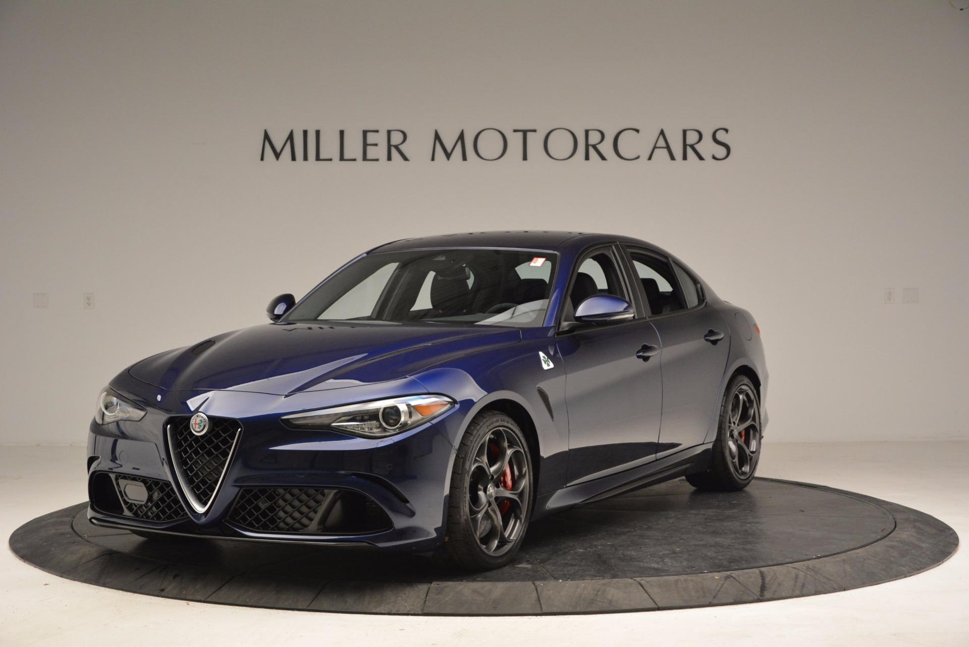 New 2017 Alfa Romeo Giulia Quadrifoglio For Sale In Westport, CT 1073_main