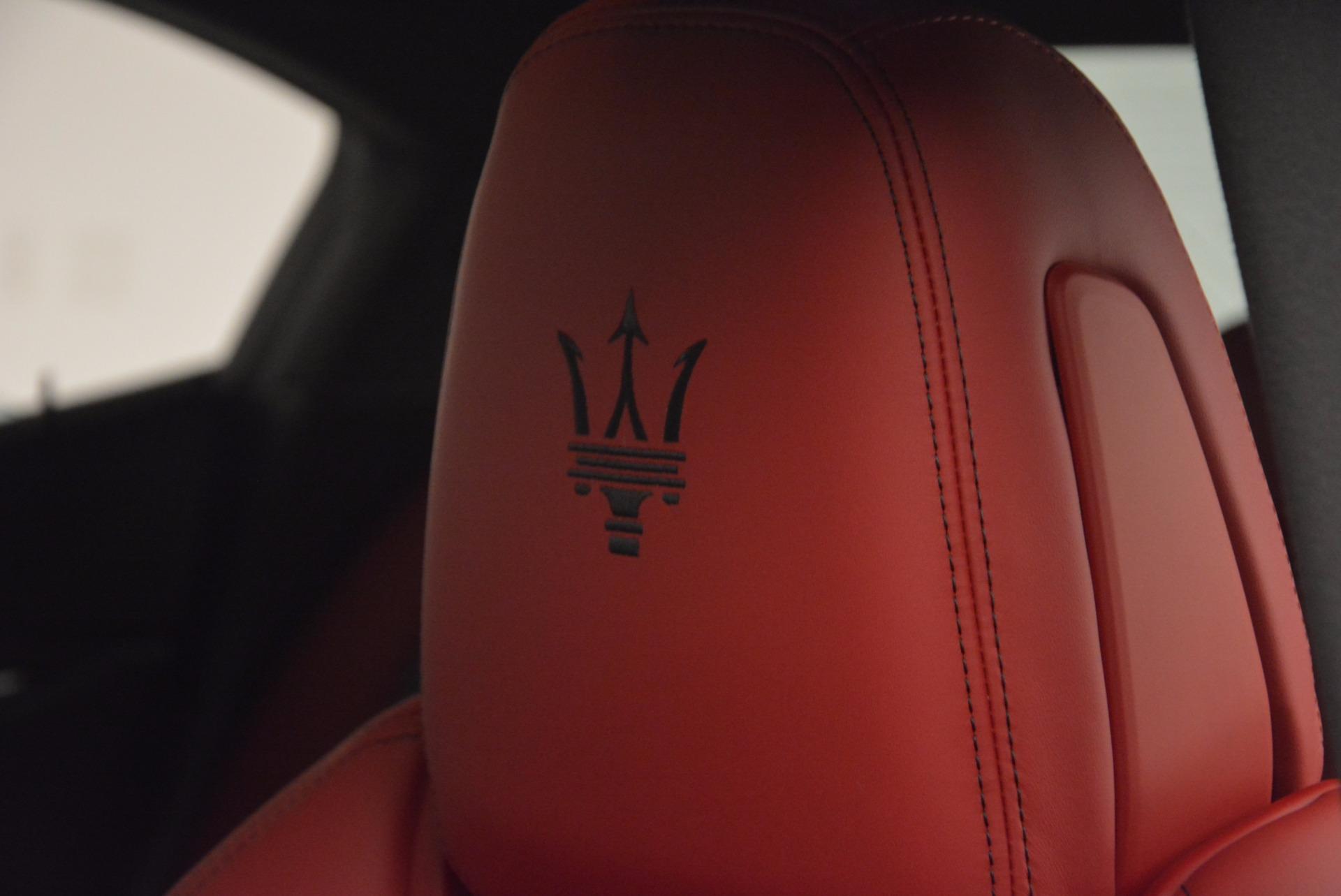 New 2017 Maserati Ghibli SQ4 For Sale In Westport, CT 1086_p21