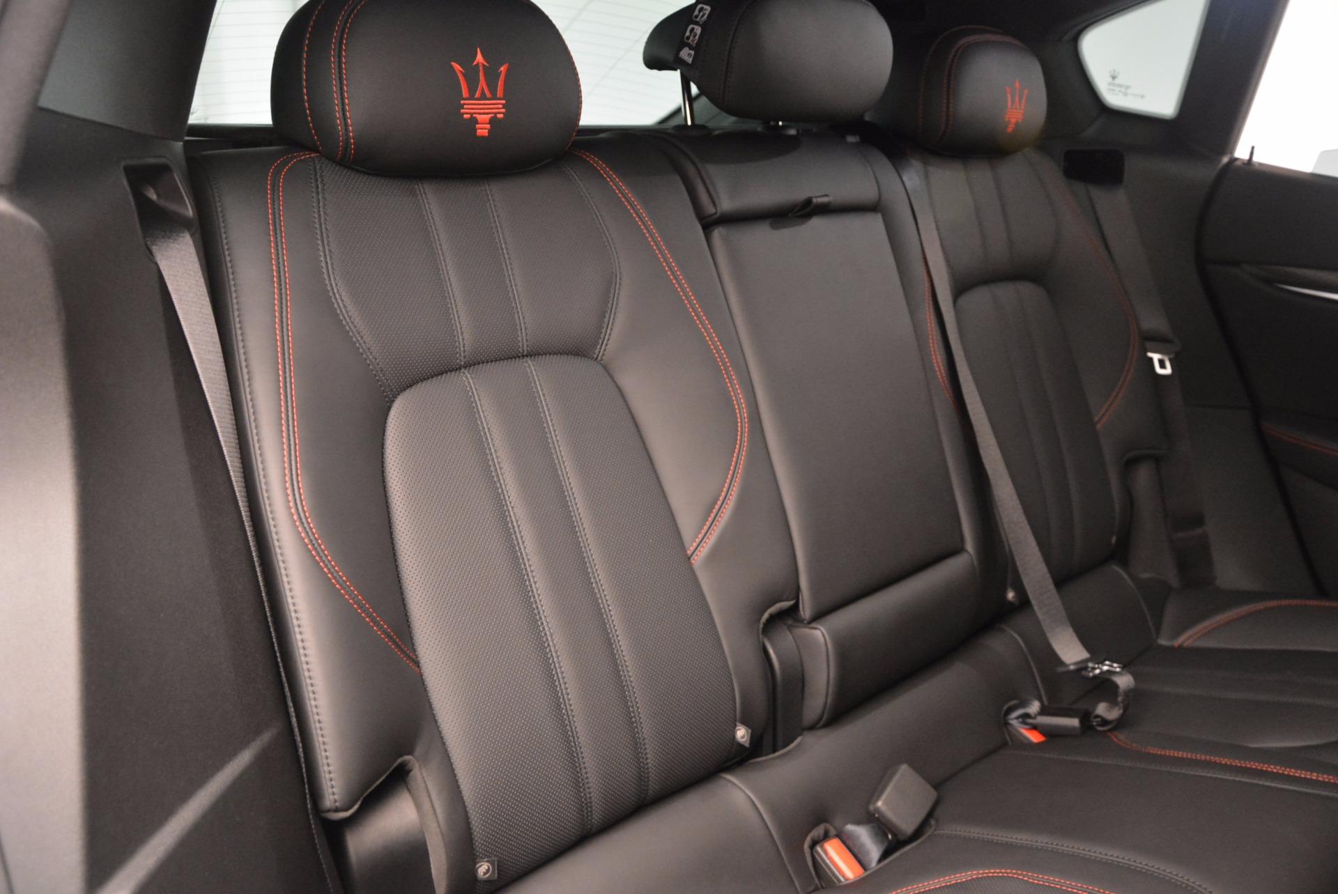 New 2017 Maserati Levante S For Sale In Westport, CT 1089_p26