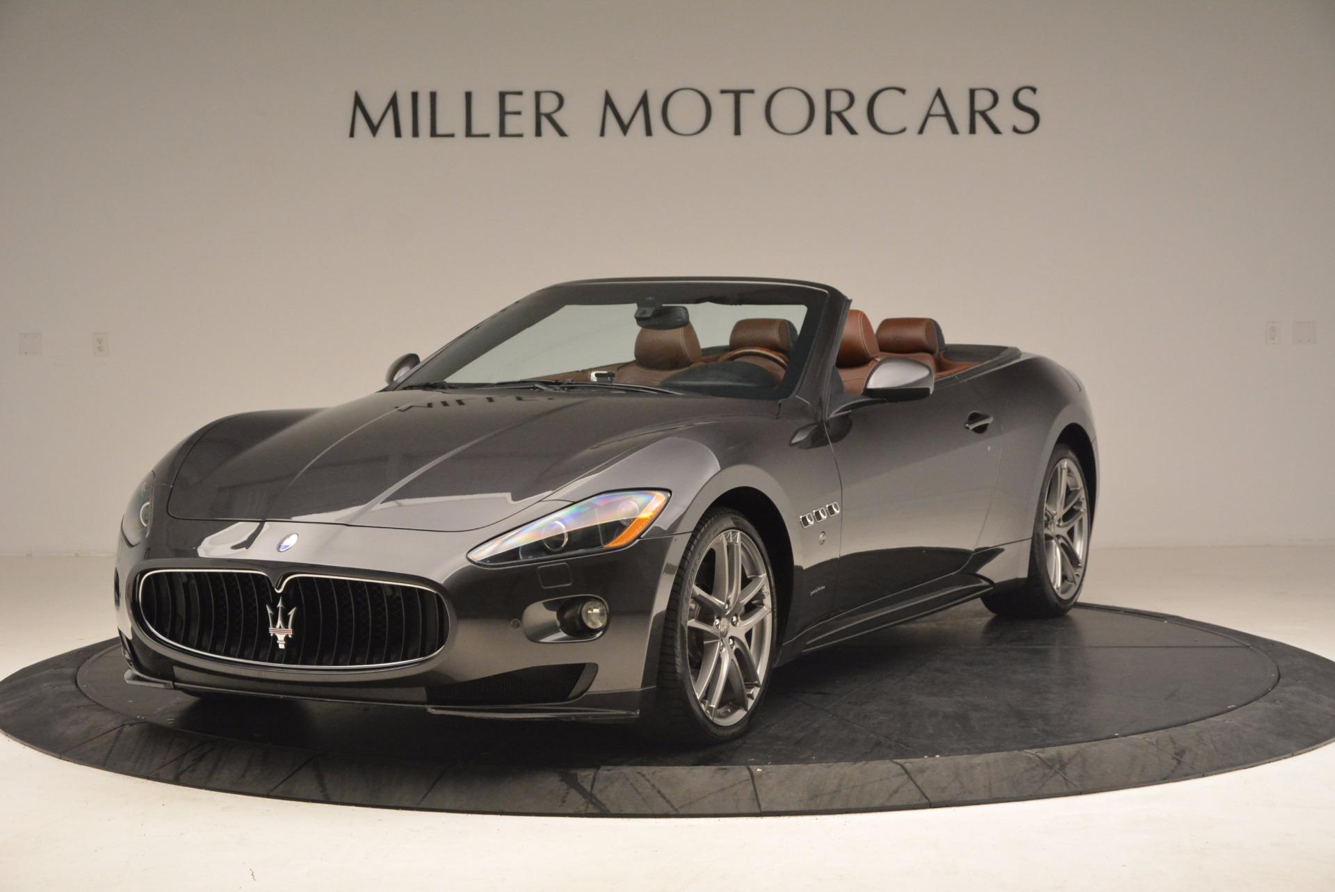 Used 2012 Maserati GranTurismo Sport For Sale In Westport, CT 1097_main