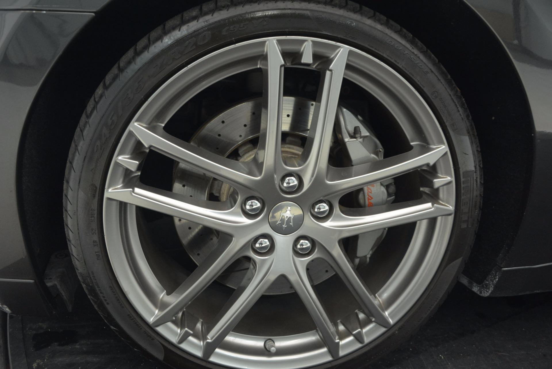 Used 2012 Maserati GranTurismo Sport For Sale In Westport, CT 1097_p20