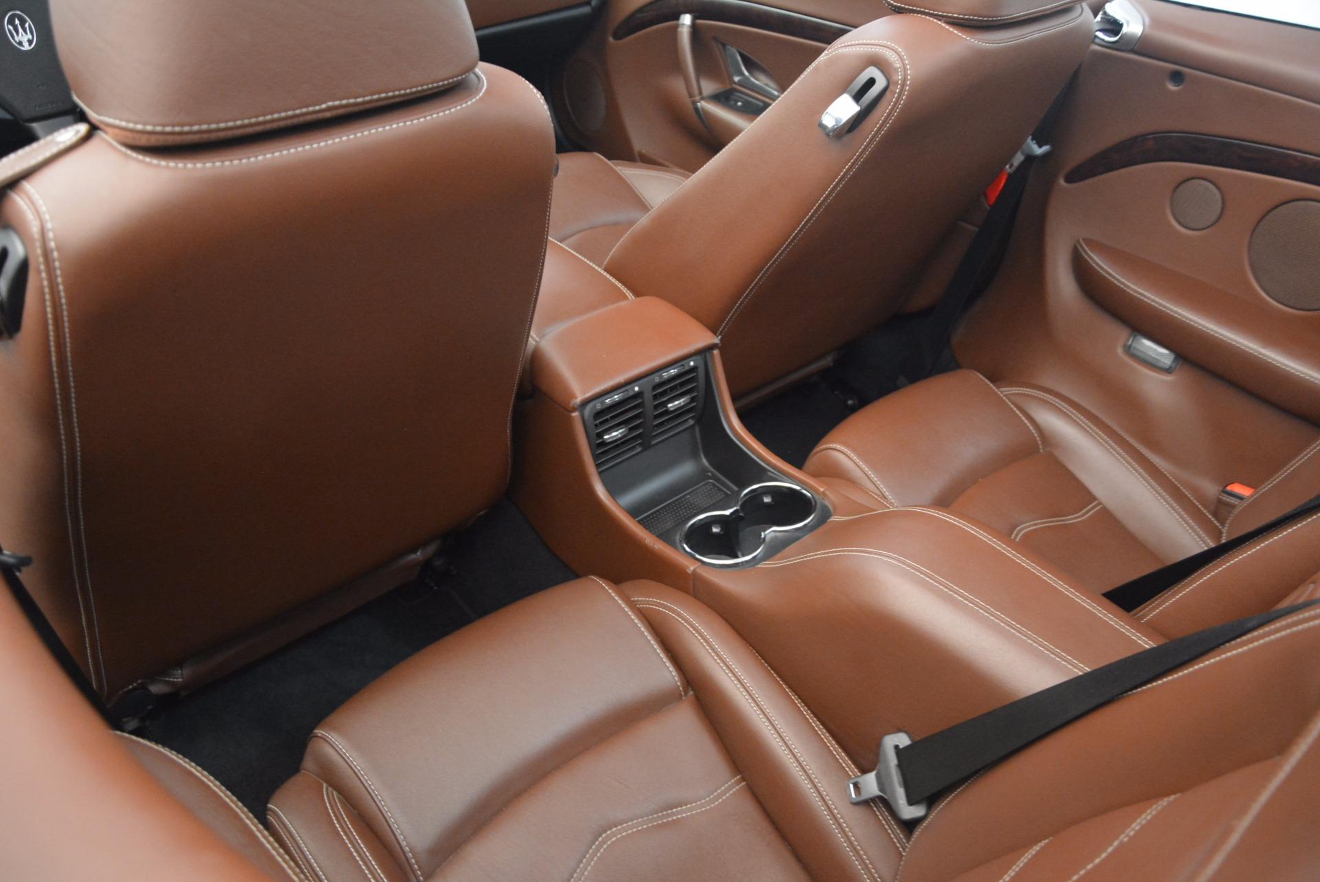 Used 2012 Maserati GranTurismo Sport For Sale In Westport, CT 1097_p24