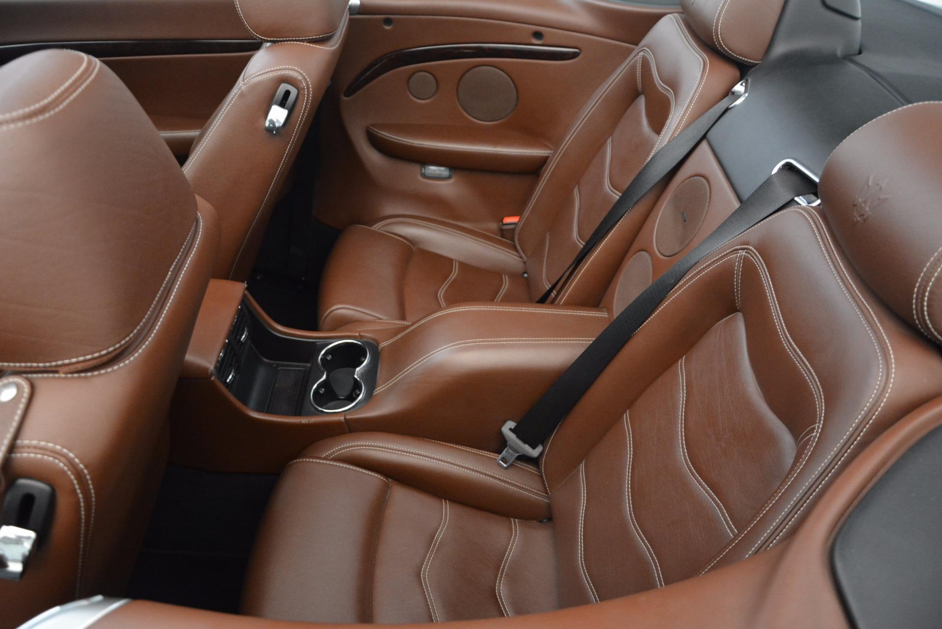 Used 2012 Maserati GranTurismo Sport For Sale In Westport, CT 1097_p25