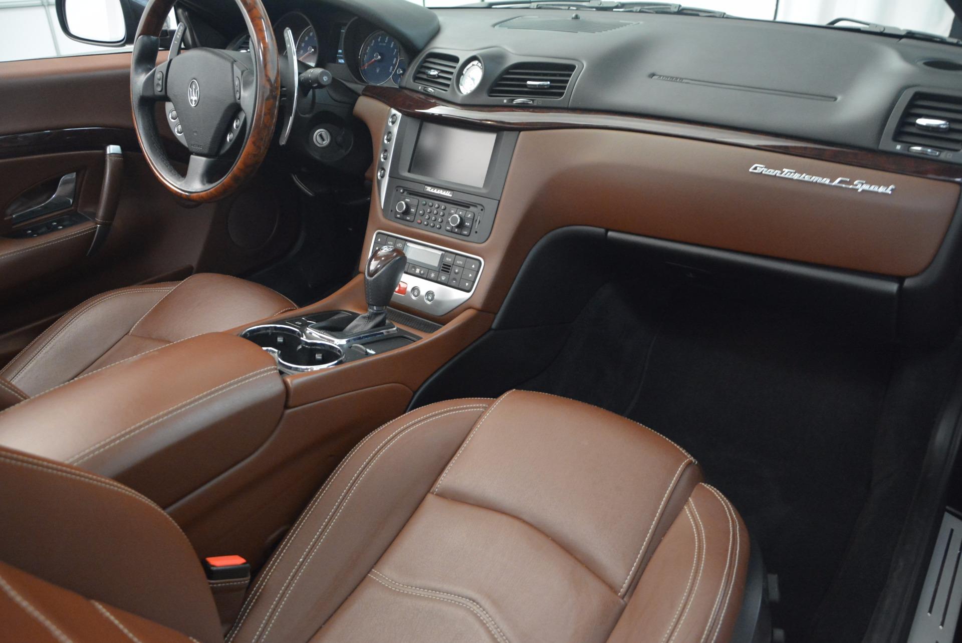 Used 2012 Maserati GranTurismo Sport For Sale In Westport, CT 1097_p27