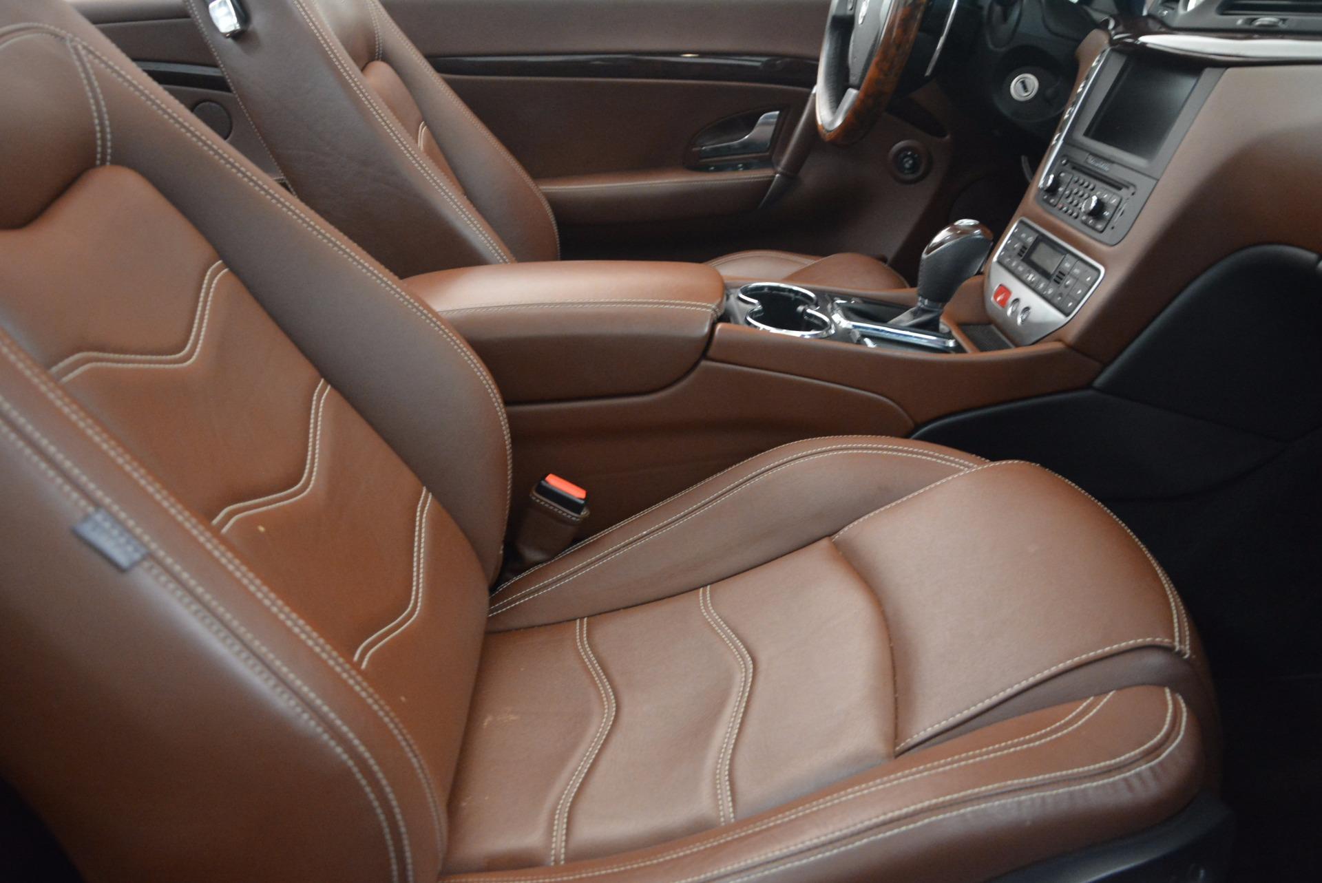 Used 2012 Maserati GranTurismo Sport For Sale In Westport, CT 1097_p28