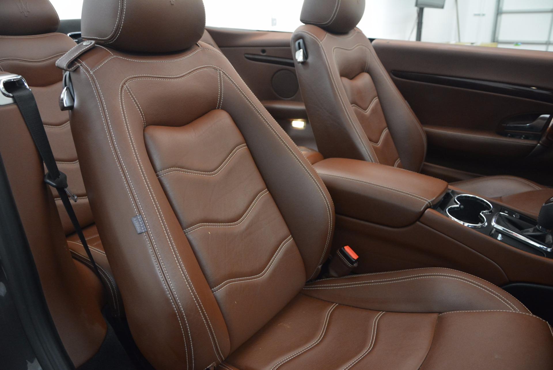 Used 2012 Maserati GranTurismo Sport For Sale In Westport, CT 1097_p29
