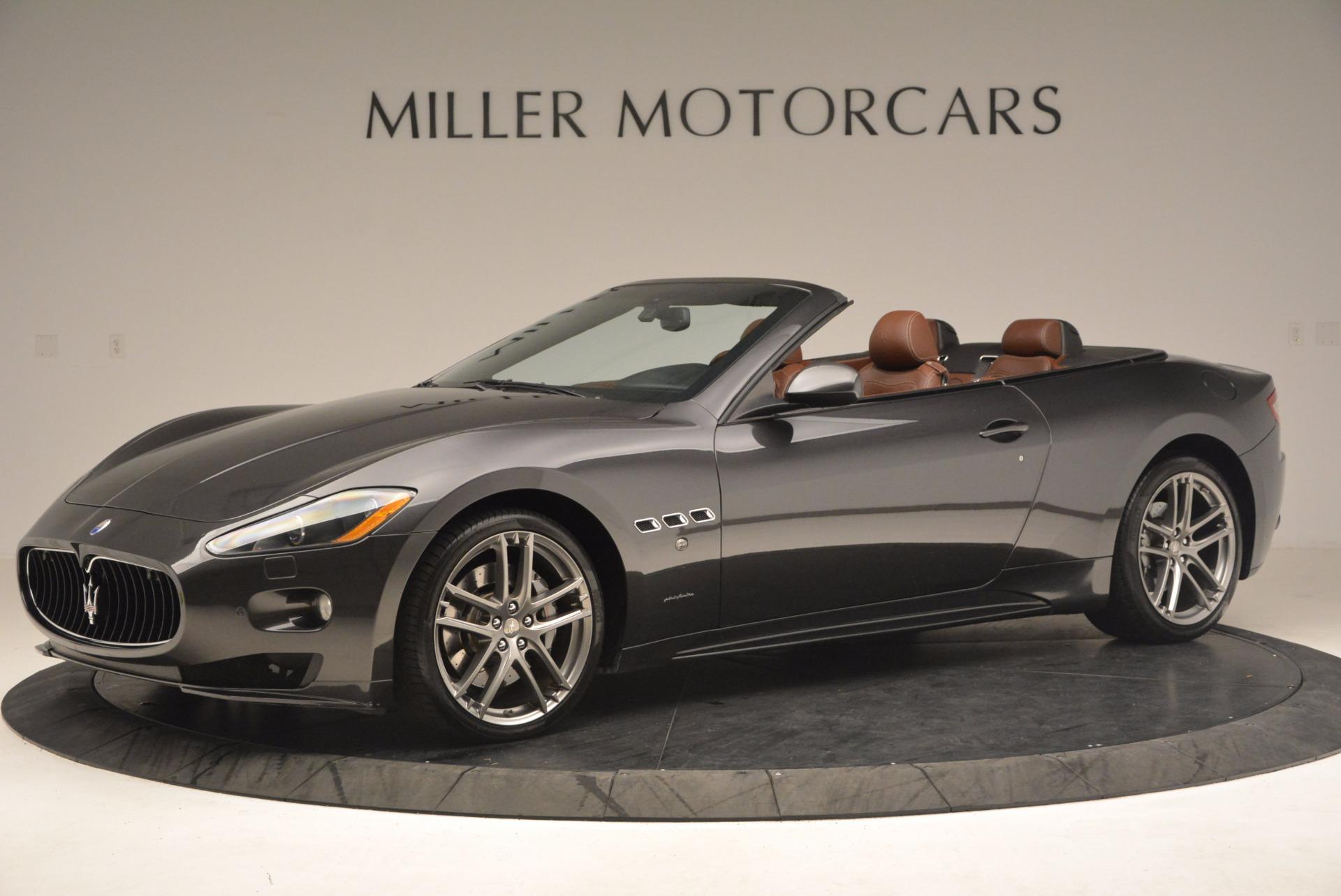Used 2012 Maserati GranTurismo Sport For Sale In Westport, CT 1097_p2