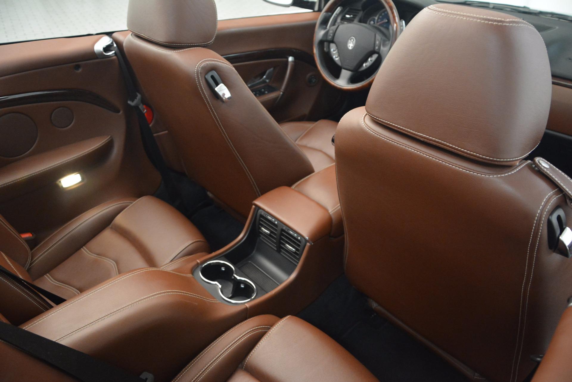 Used 2012 Maserati GranTurismo Sport For Sale In Westport, CT 1097_p31