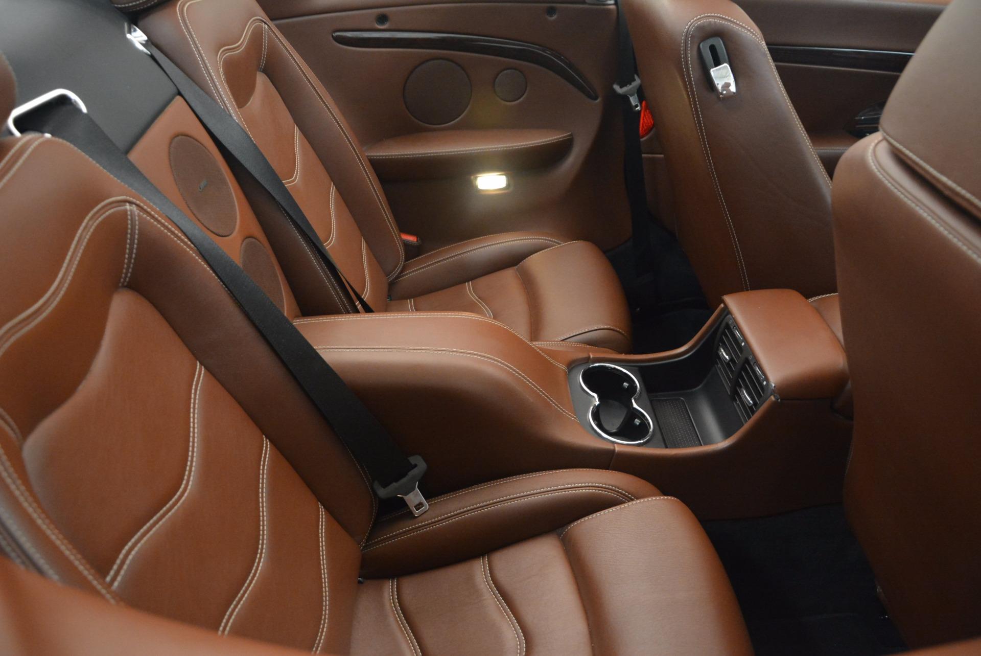 Used 2012 Maserati GranTurismo Sport For Sale In Westport, CT 1097_p32