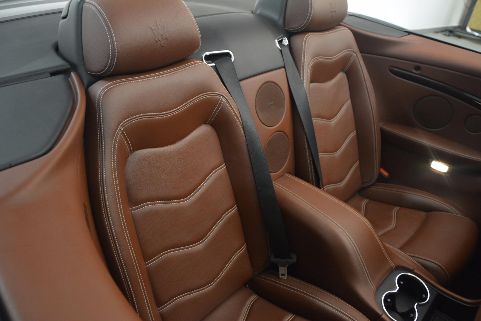Used 2012 Maserati GranTurismo Sport For Sale In Westport, CT 1097_p33