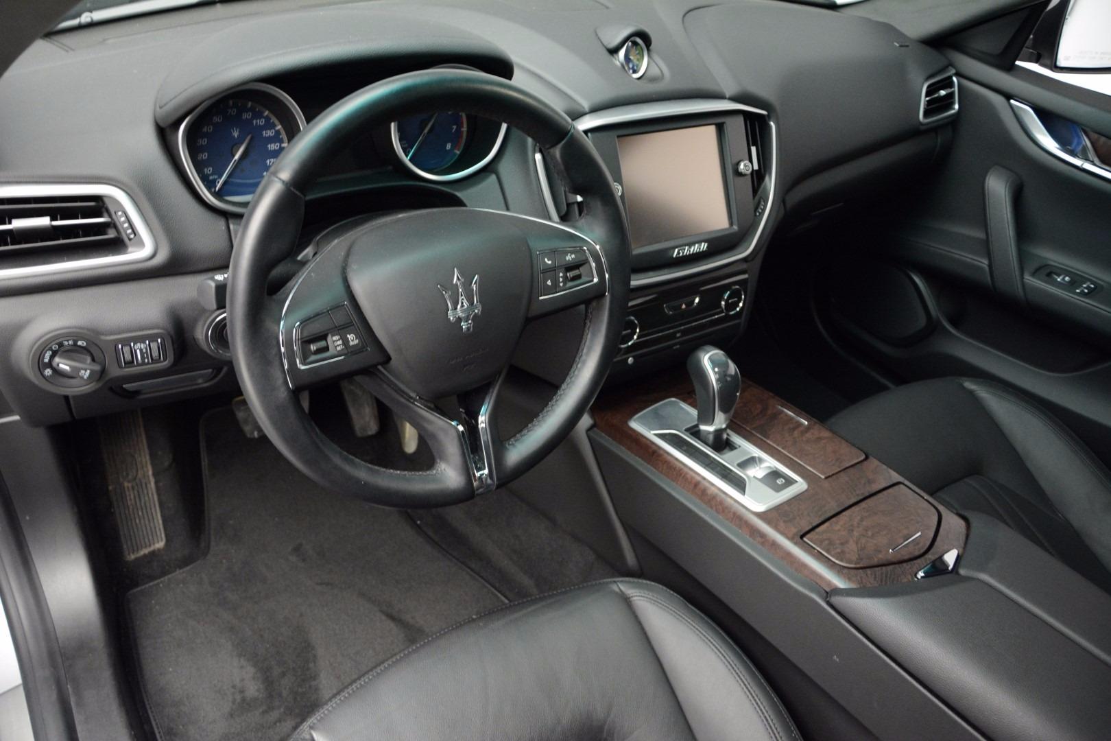 Used 2014 Maserati Ghibli  For Sale In Westport, CT 1099_p13