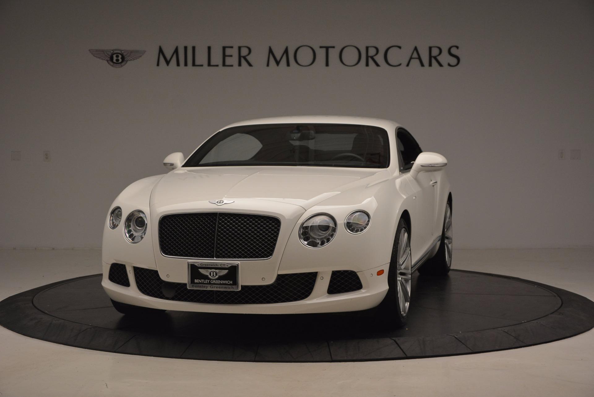 Used 2014 Bentley Continental GT Speed For Sale In Westport, CT 1102_main