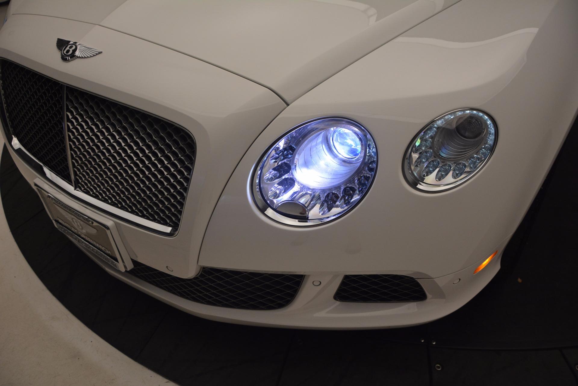 Used 2014 Bentley Continental GT Speed For Sale In Westport, CT 1102_p18