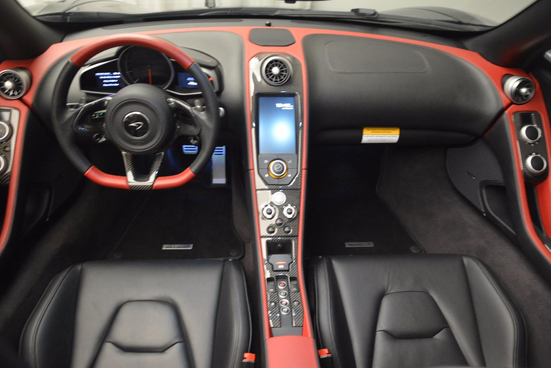 Used 2016 McLaren 650S Spider  For Sale In Westport, CT 1103_p23