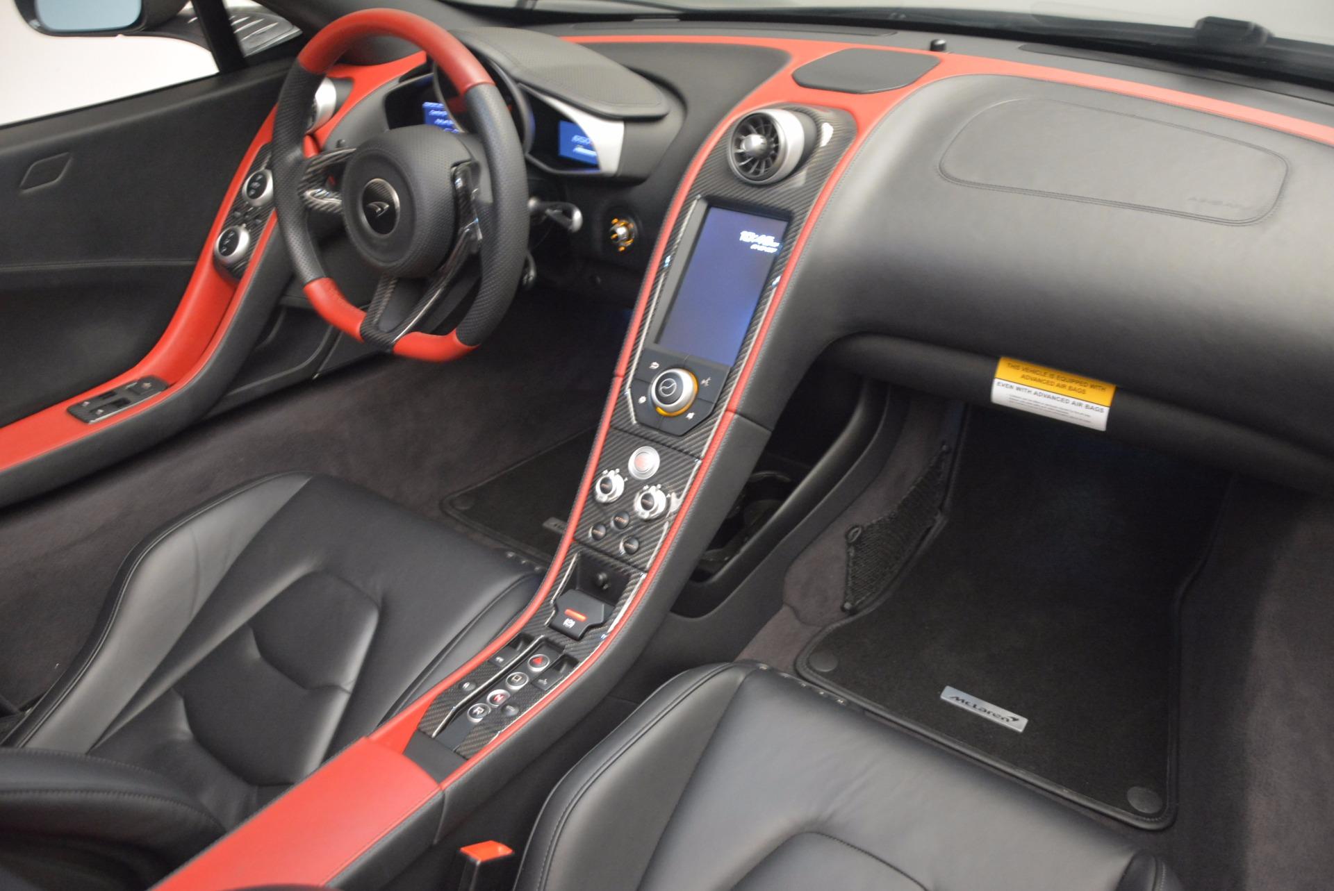 Used 2016 McLaren 650S Spider  For Sale In Westport, CT 1103_p24