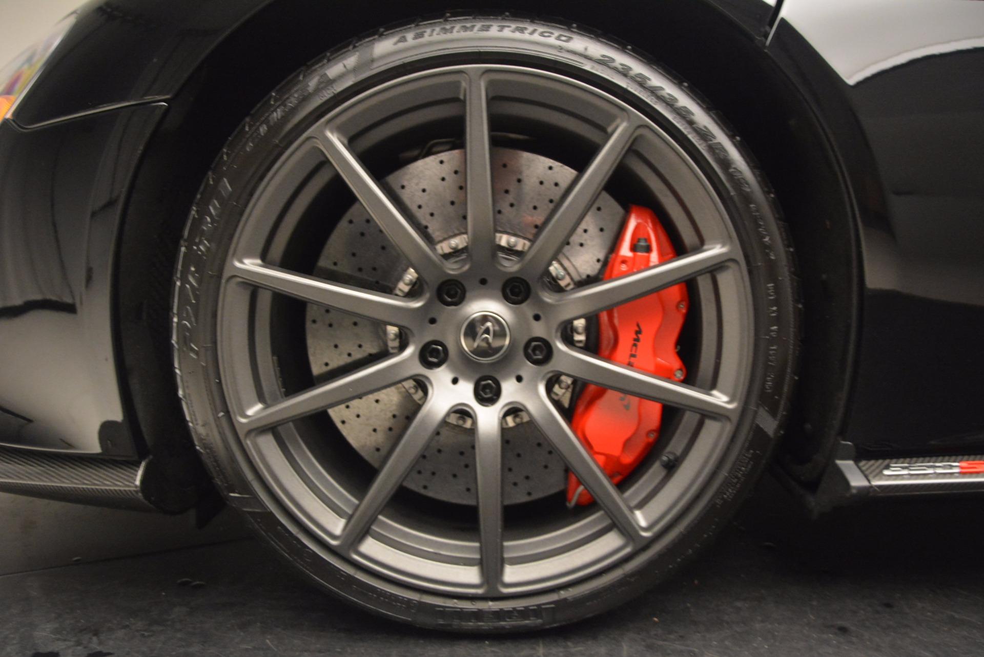 Used 2016 McLaren 650S Spider  For Sale In Westport, CT 1103_p26