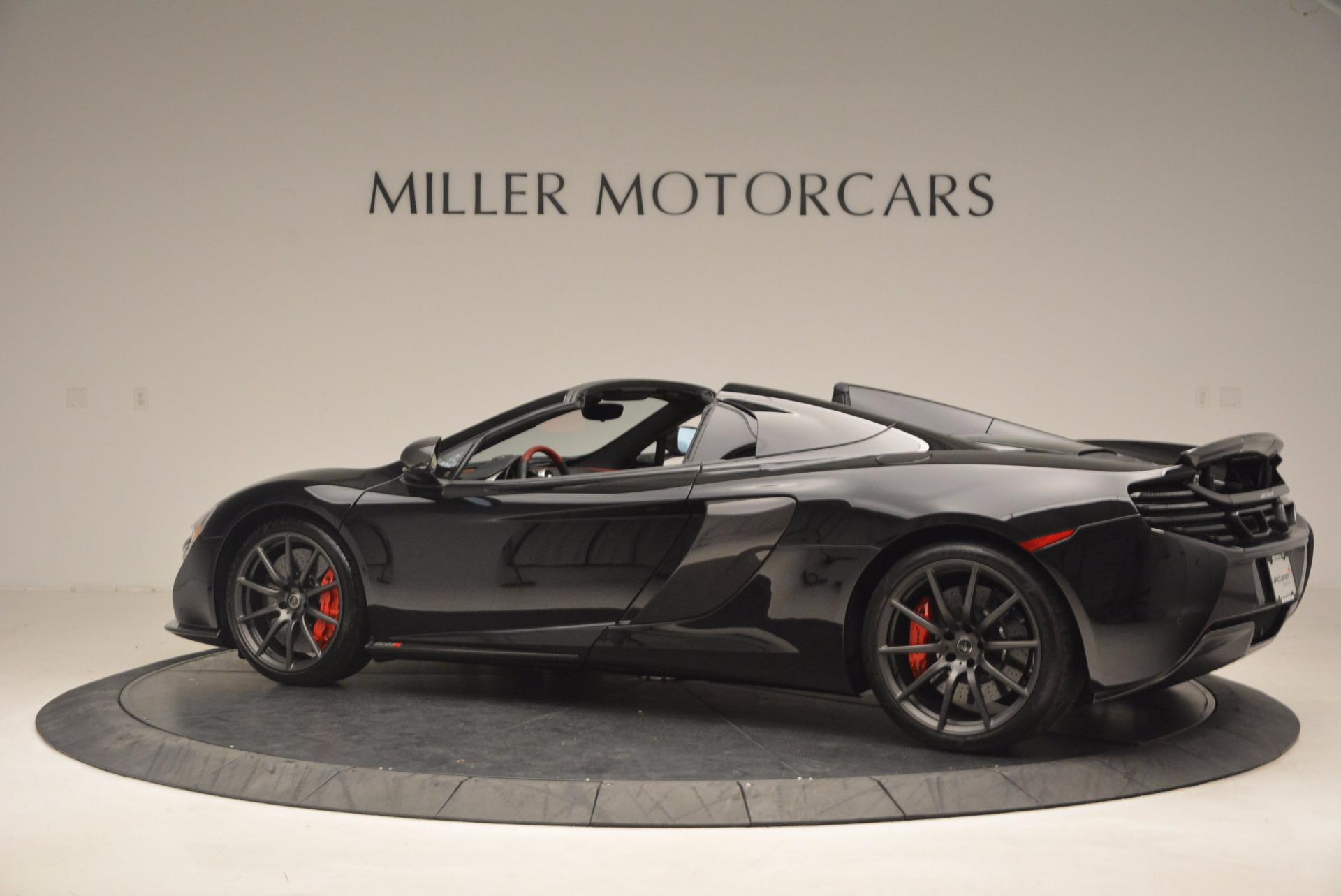Used 2016 McLaren 650S Spider  For Sale In Westport, CT 1103_p4