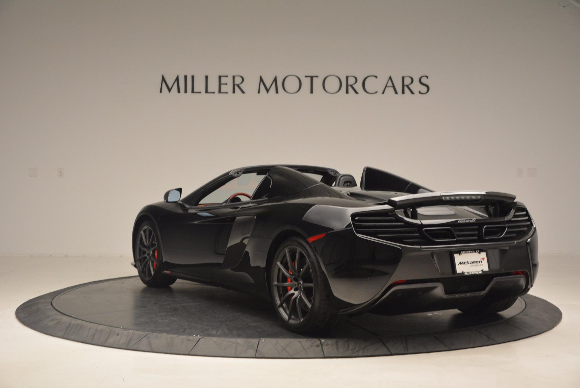 Used 2016 McLaren 650S Spider  For Sale In Westport, CT 1103_p5