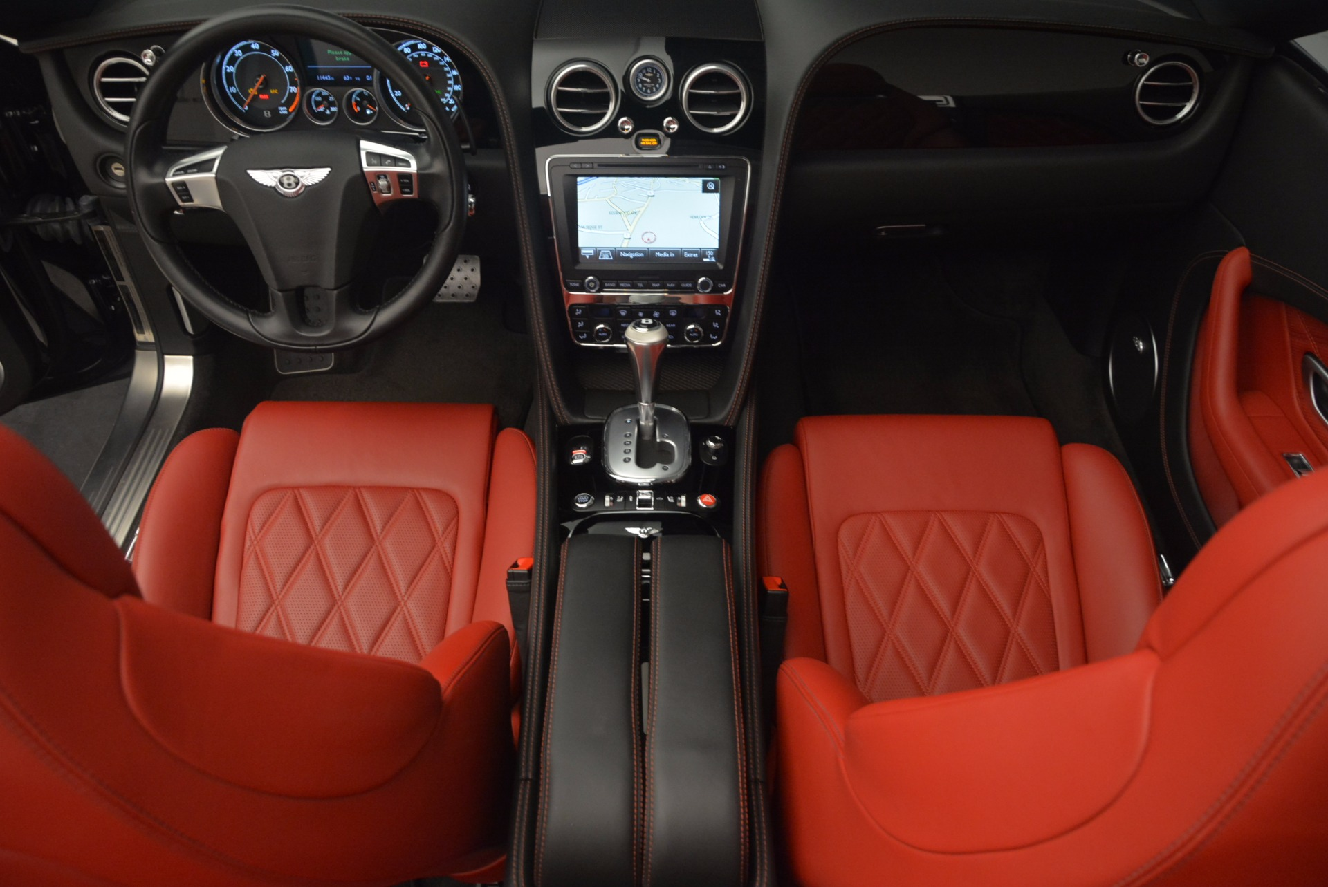 Used 2012 Bentley Continental GT W12 Convertible For Sale In Westport, CT 1104_p42
