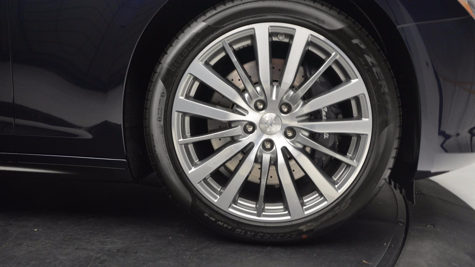New 2017 Maserati Ghibli S Q4 For Sale In Westport, CT 1110_p23