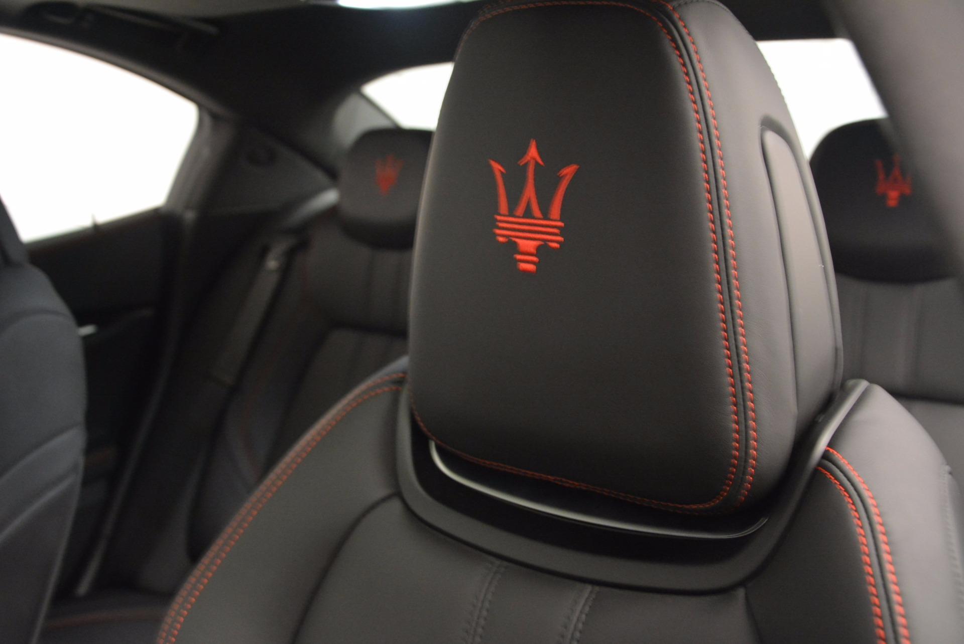 New 2017 Maserati Ghibli S Q4 For Sale In Westport, CT 1114_p16