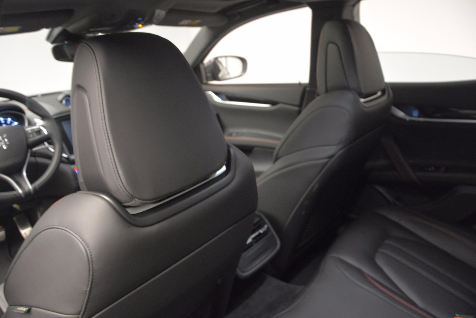New 2017 Maserati Ghibli S Q4 For Sale In Westport, CT 1114_p17